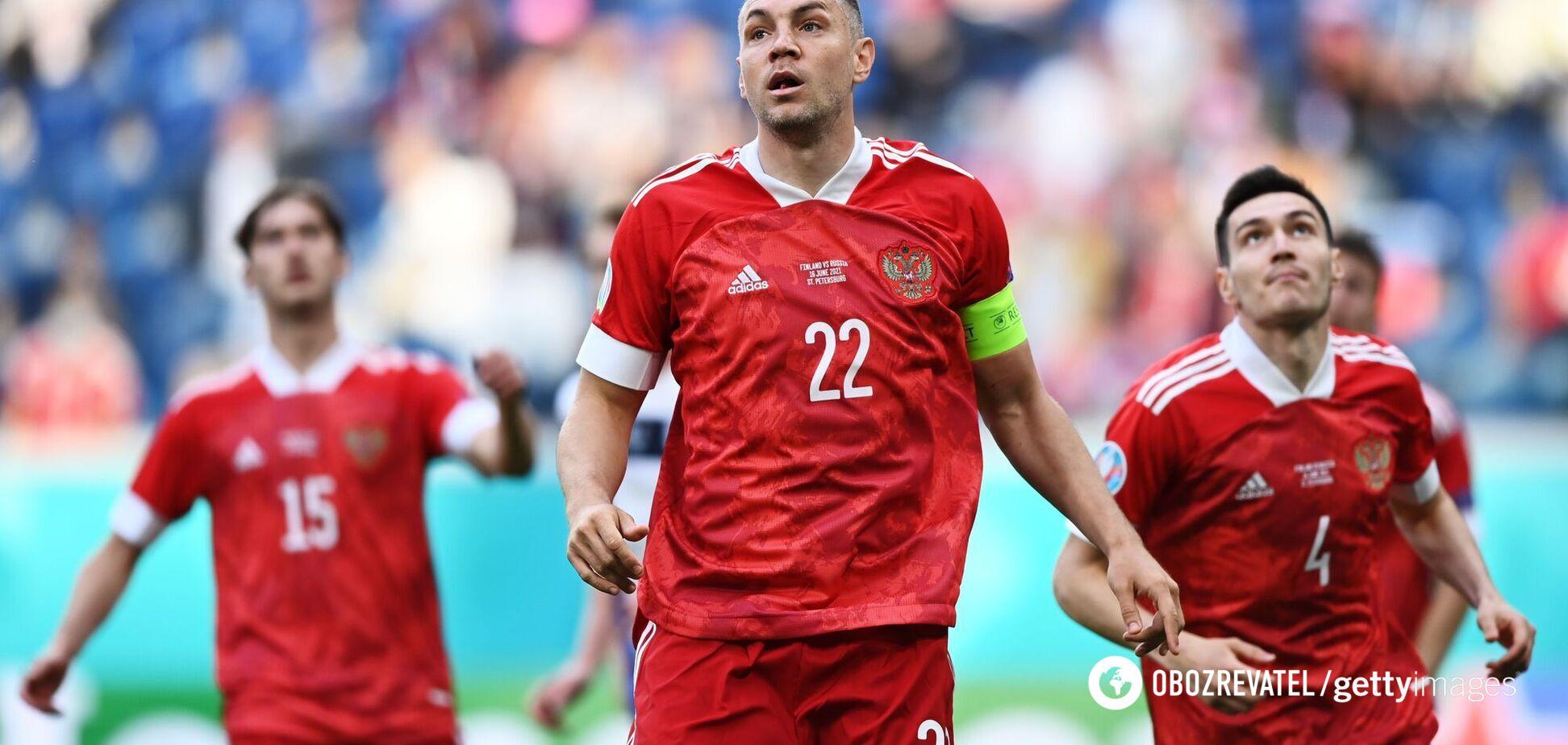 Букмекеры считают, что Россия не добьется успеха в матче с Данией