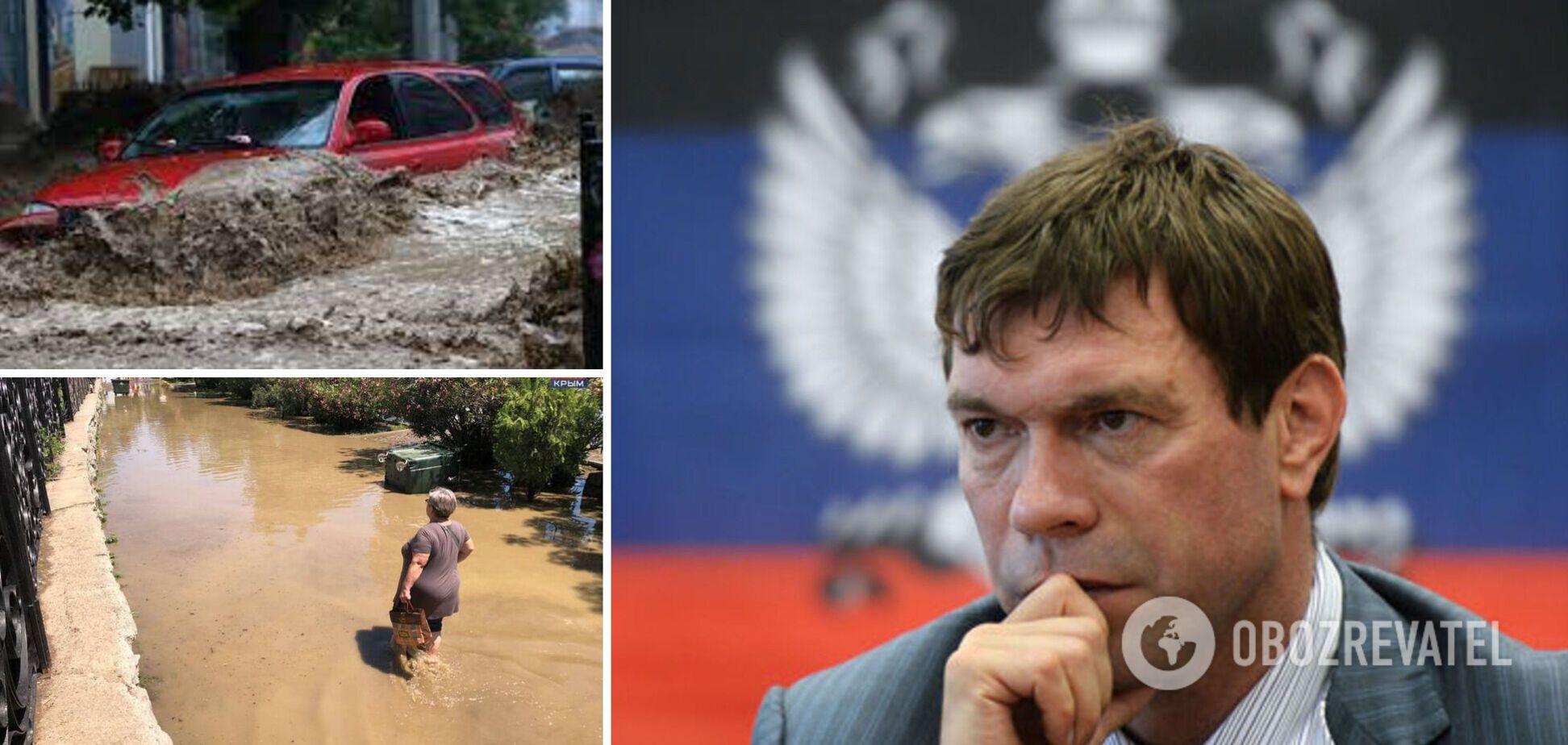 Царьов про потоп в Ялті: чиста і вимита, хай би зливи йшли щотижня