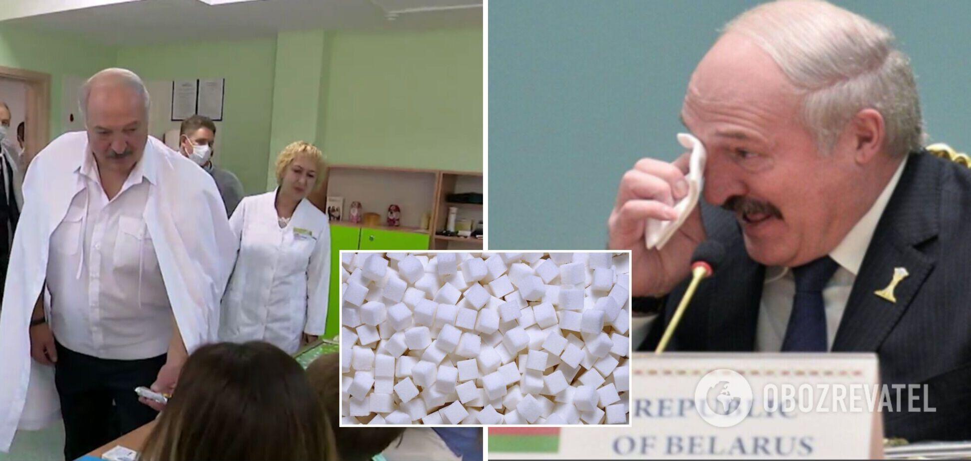Лукашенко – ребенку: я глюкоза, вот вырастешь, я тебя буду лечить