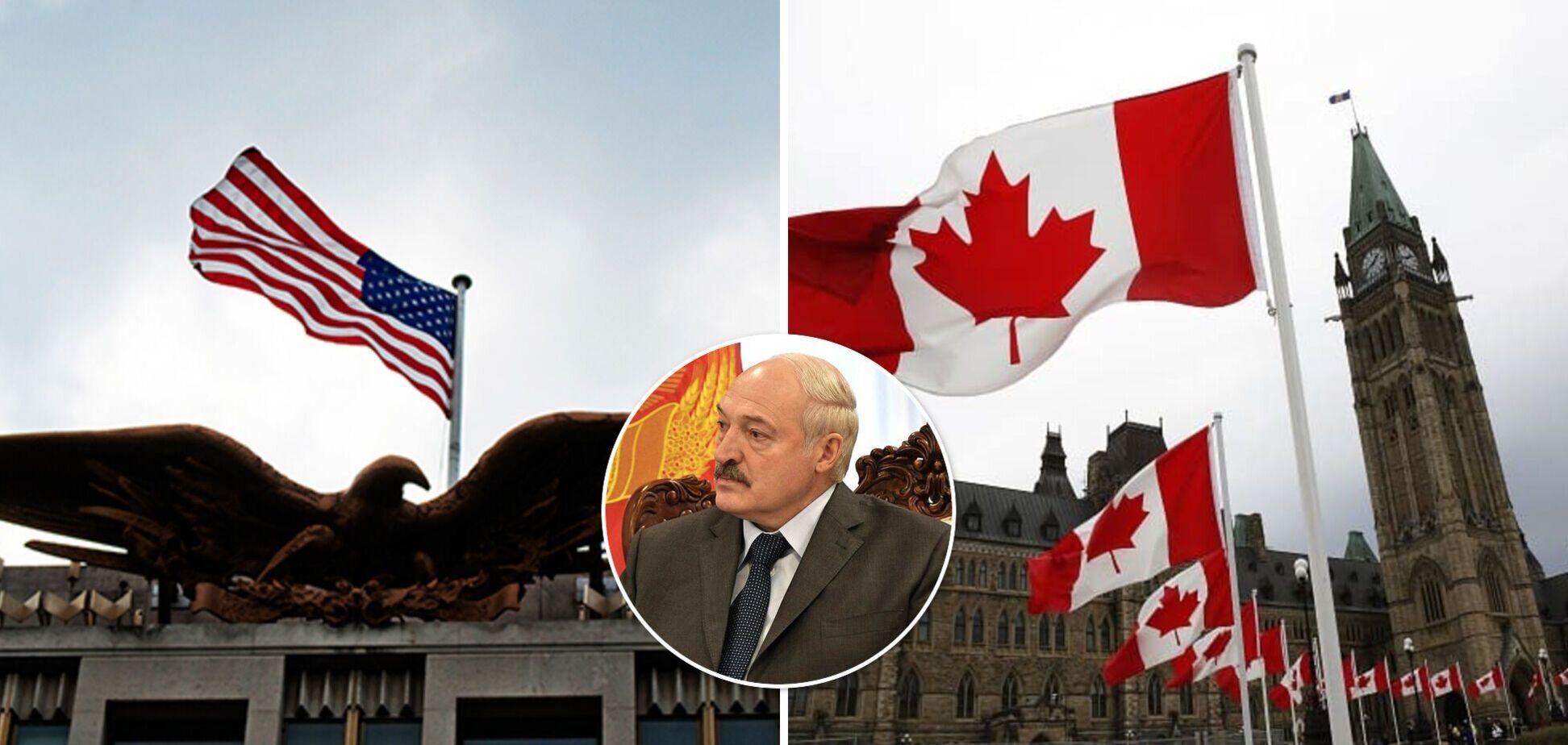США і Канада слідом за ЄС запровадили санкції проти Білорусі