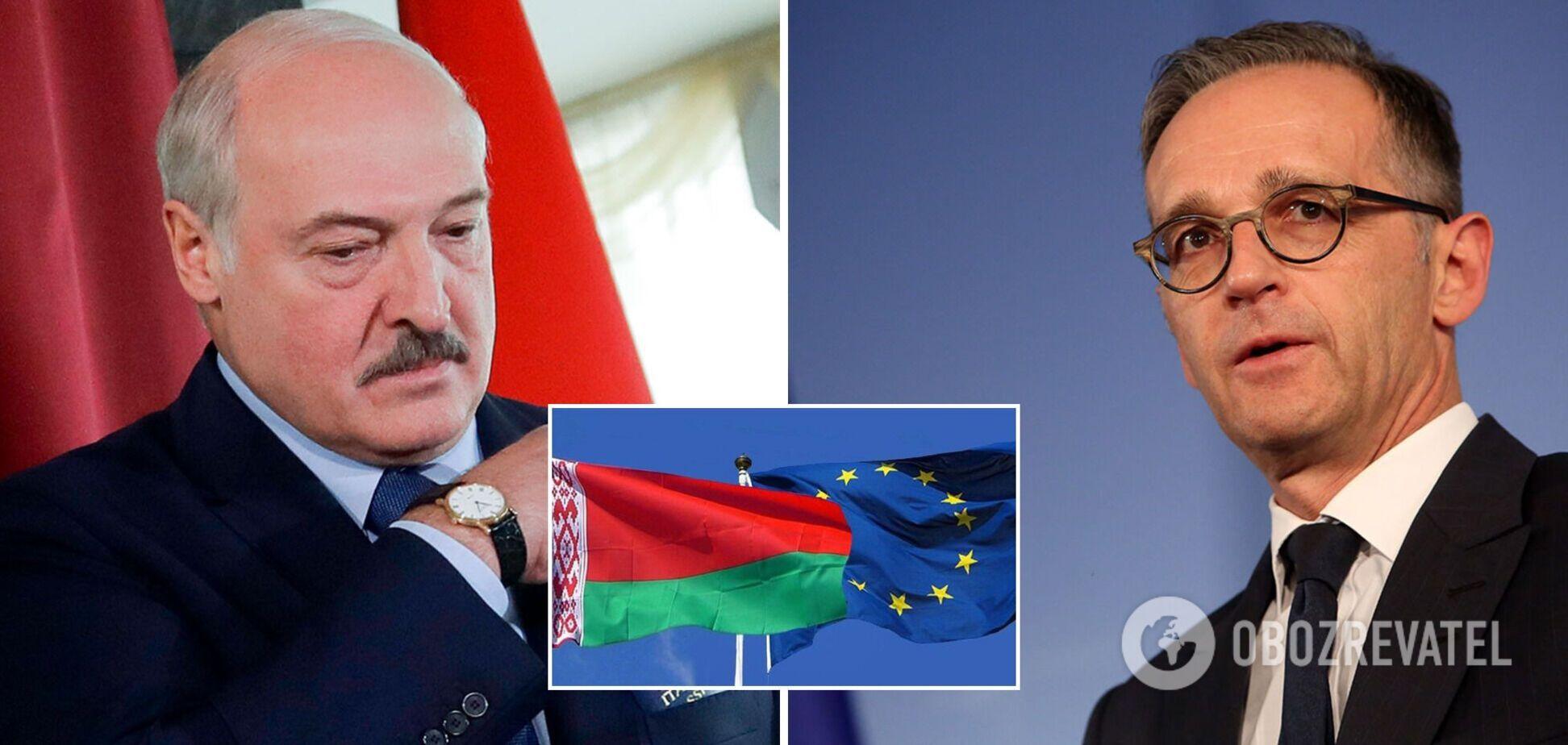 Міністр закордонних справ Німеччини заявив про неминучість нових санкцій проти Білорусі