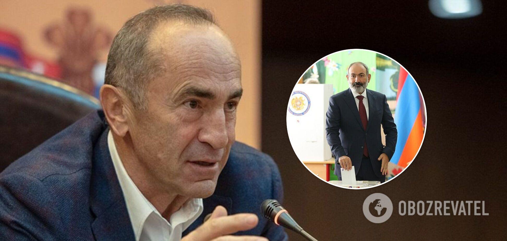Поразка 'вірменського Медведчука'