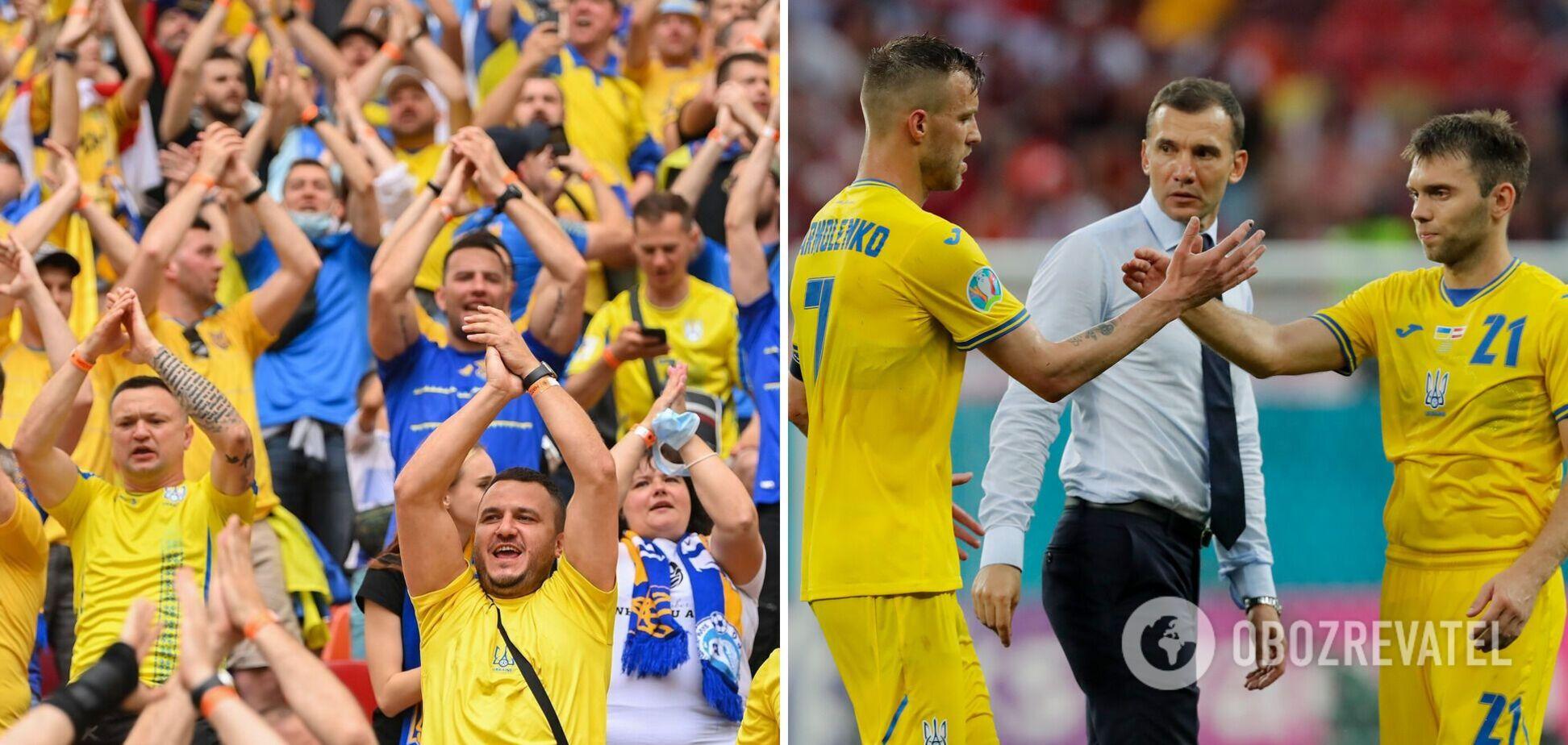 Сборная Украины проиграла Австрии со счетом 0:1