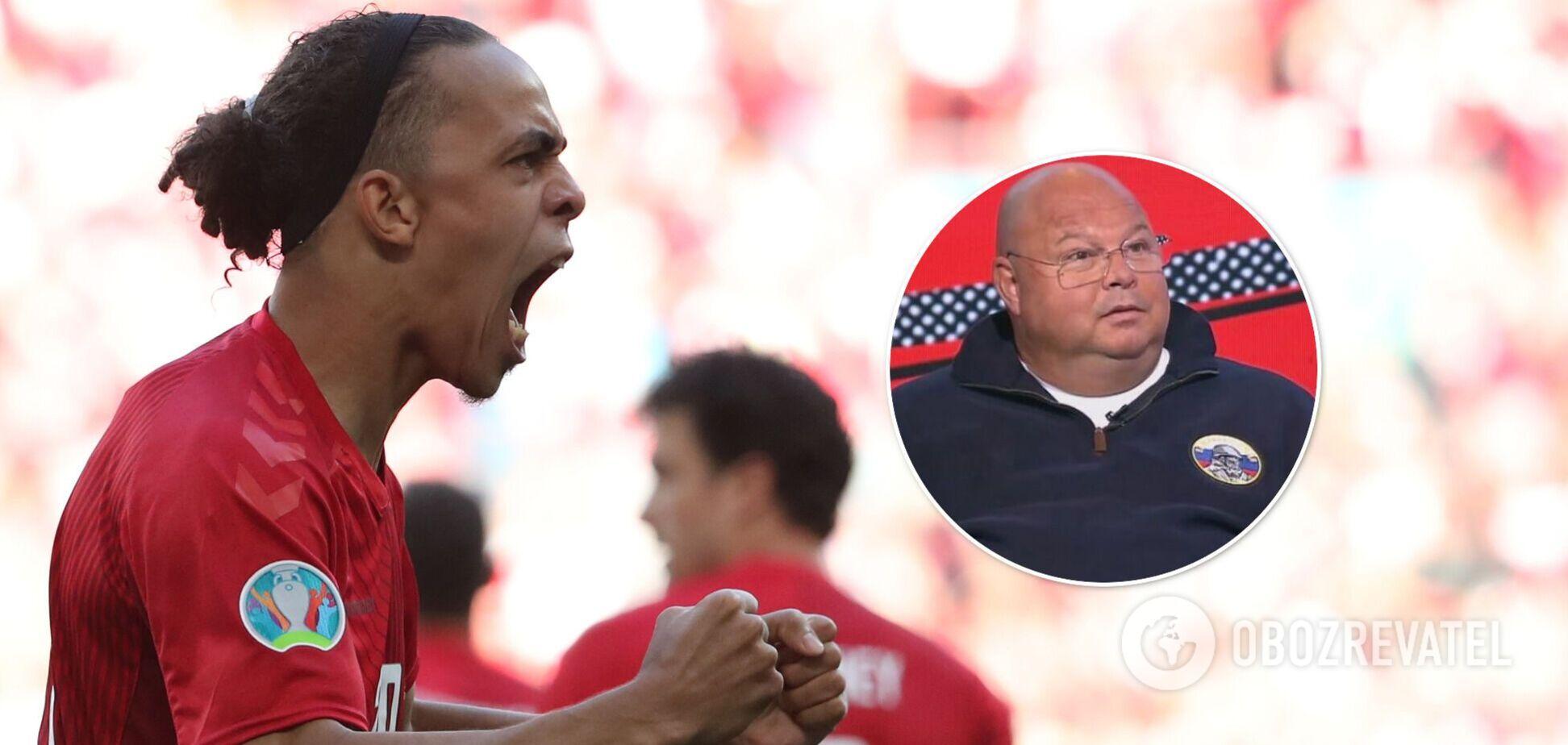 'Нахабні і мерзотні': в Росії образили датських футболістів перед матчем Євро-2020