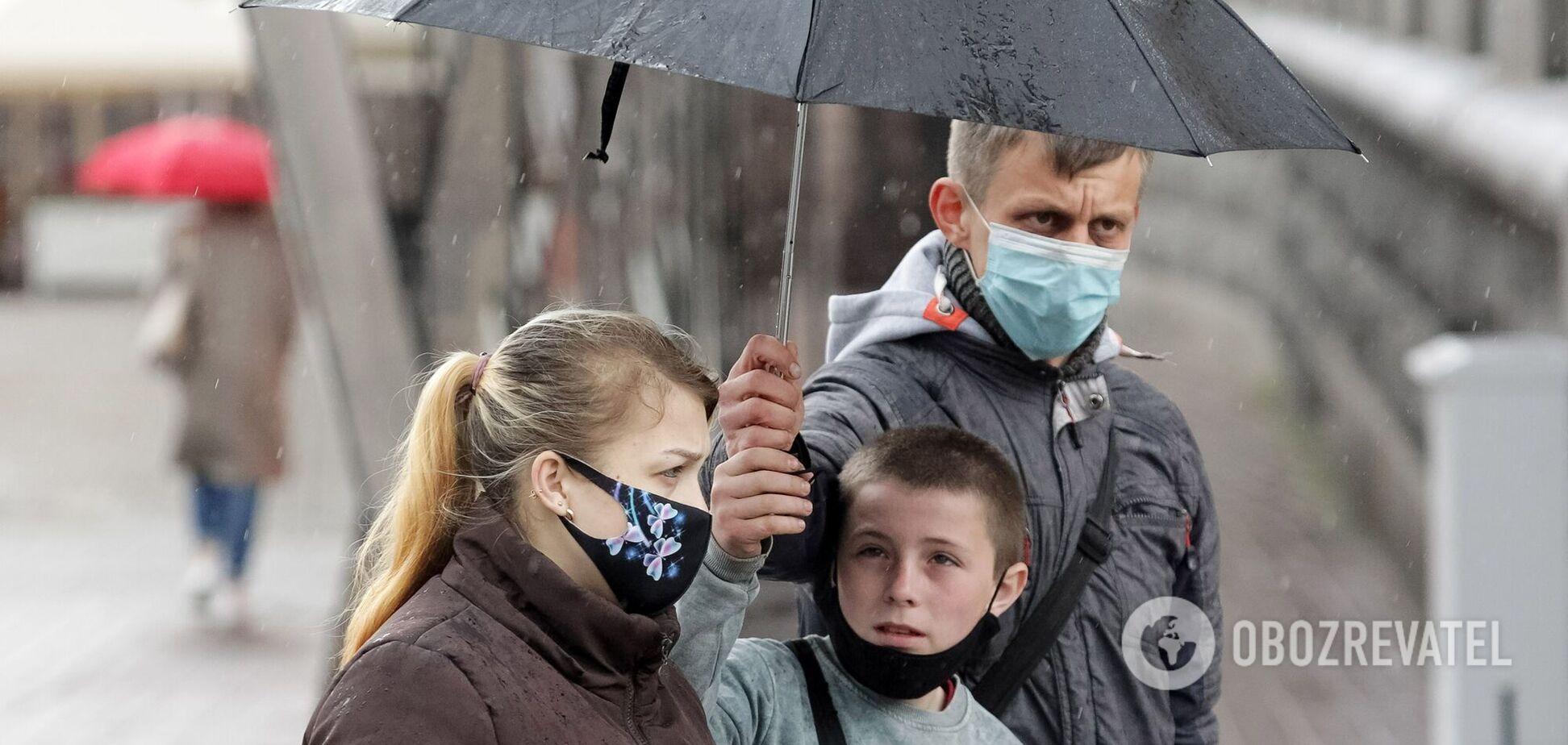 Вівторок в Україні буде дощовим