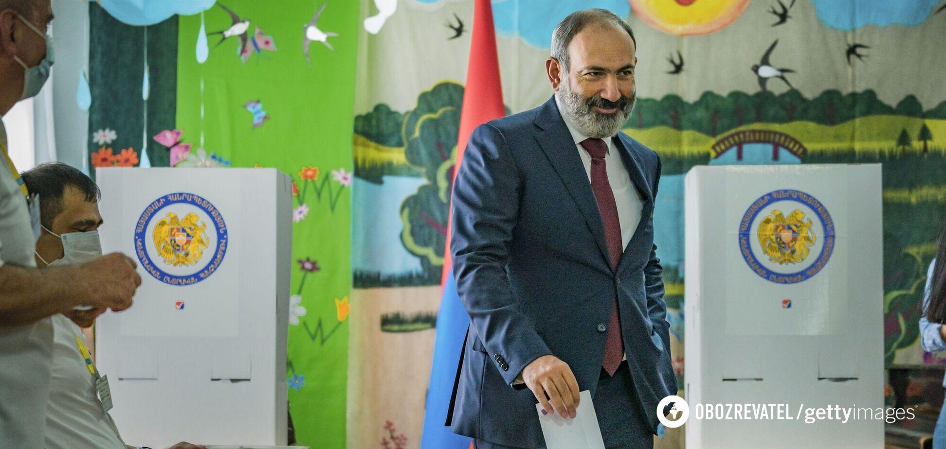У Вірменії на виборах до парламенту перемогла партія Пашиняна: дані підрахунку голосів