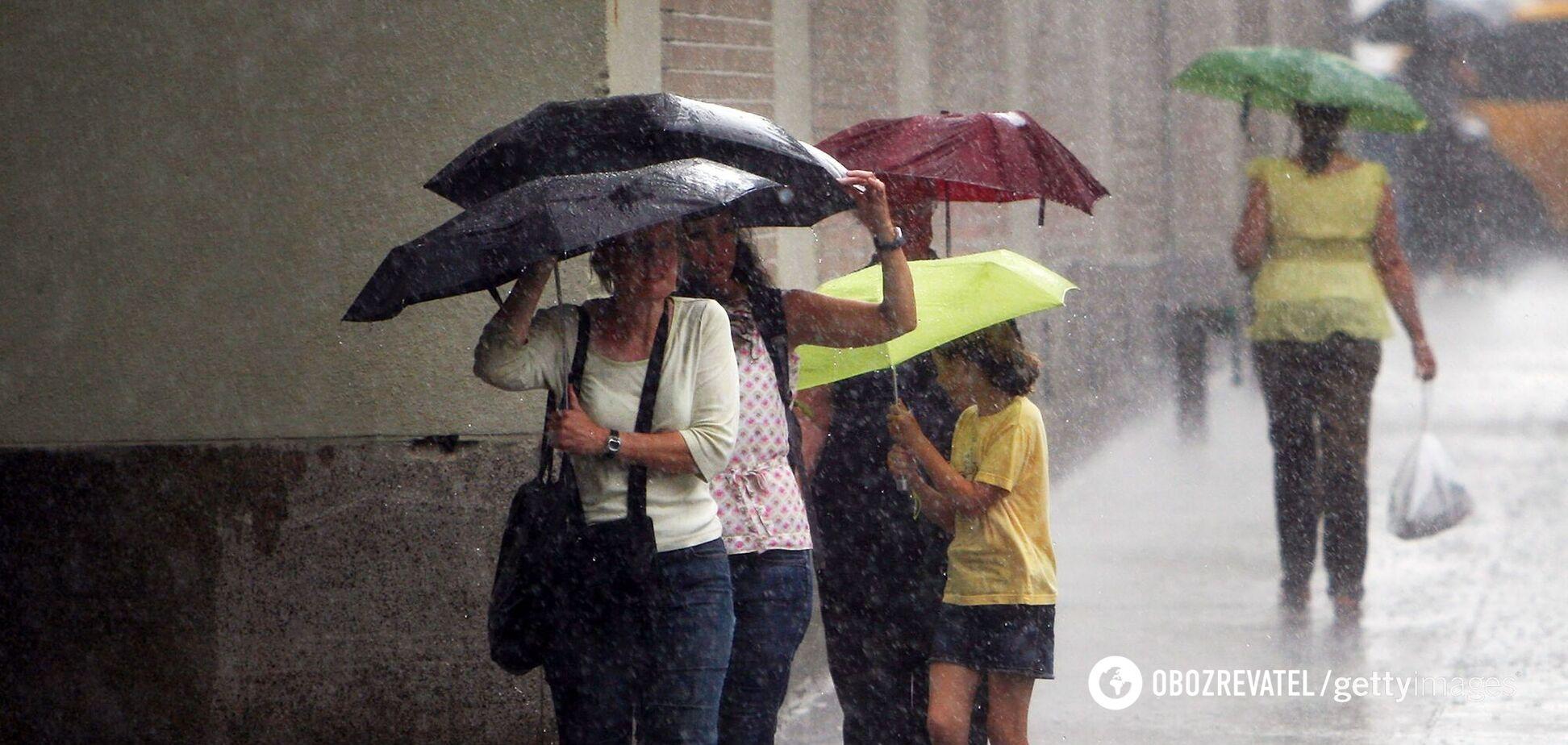 Метеорологи предупредили о сильном ухудшении погоды в Киеве и области