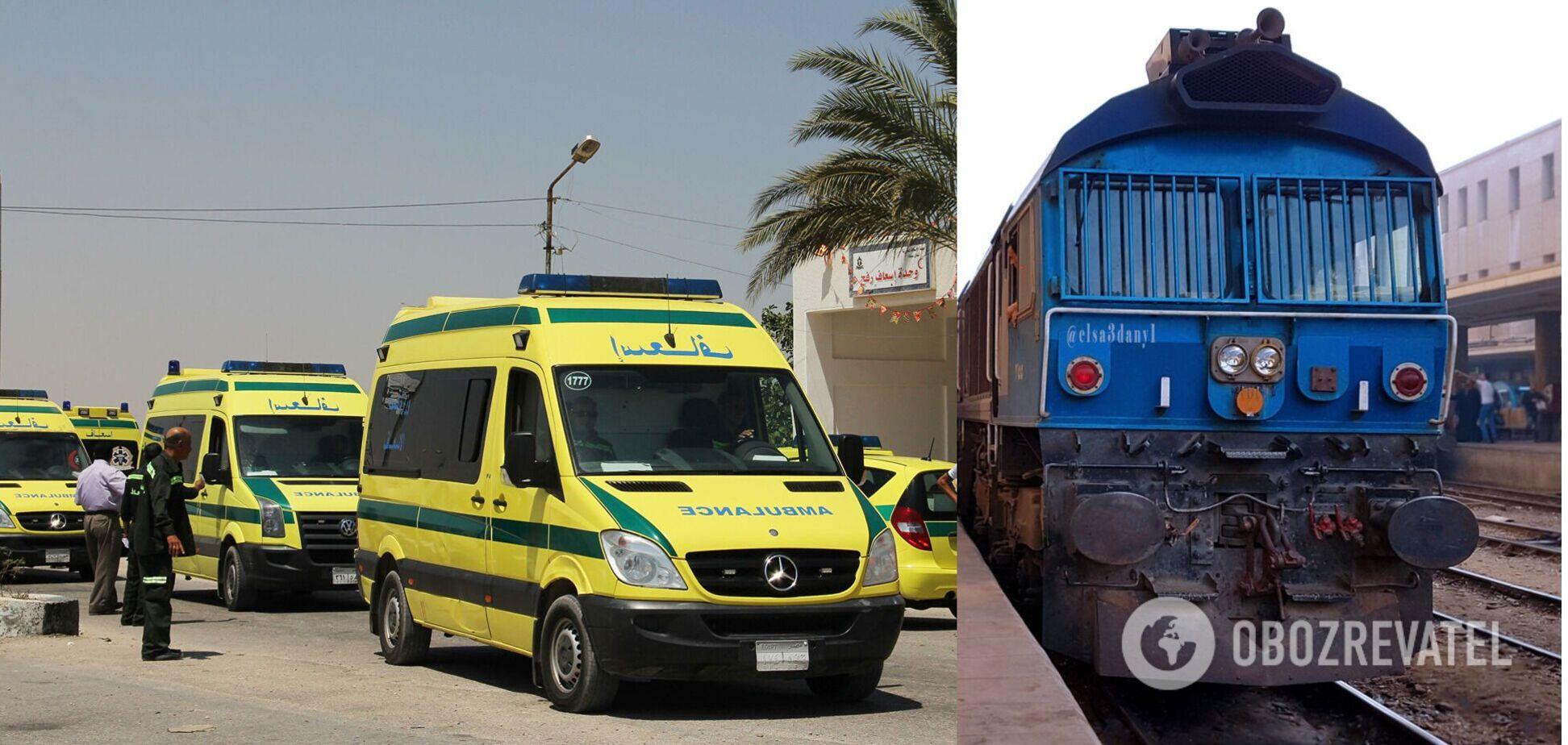 У Єгипті поїзд протаранив автобус, є загиблий та поранені