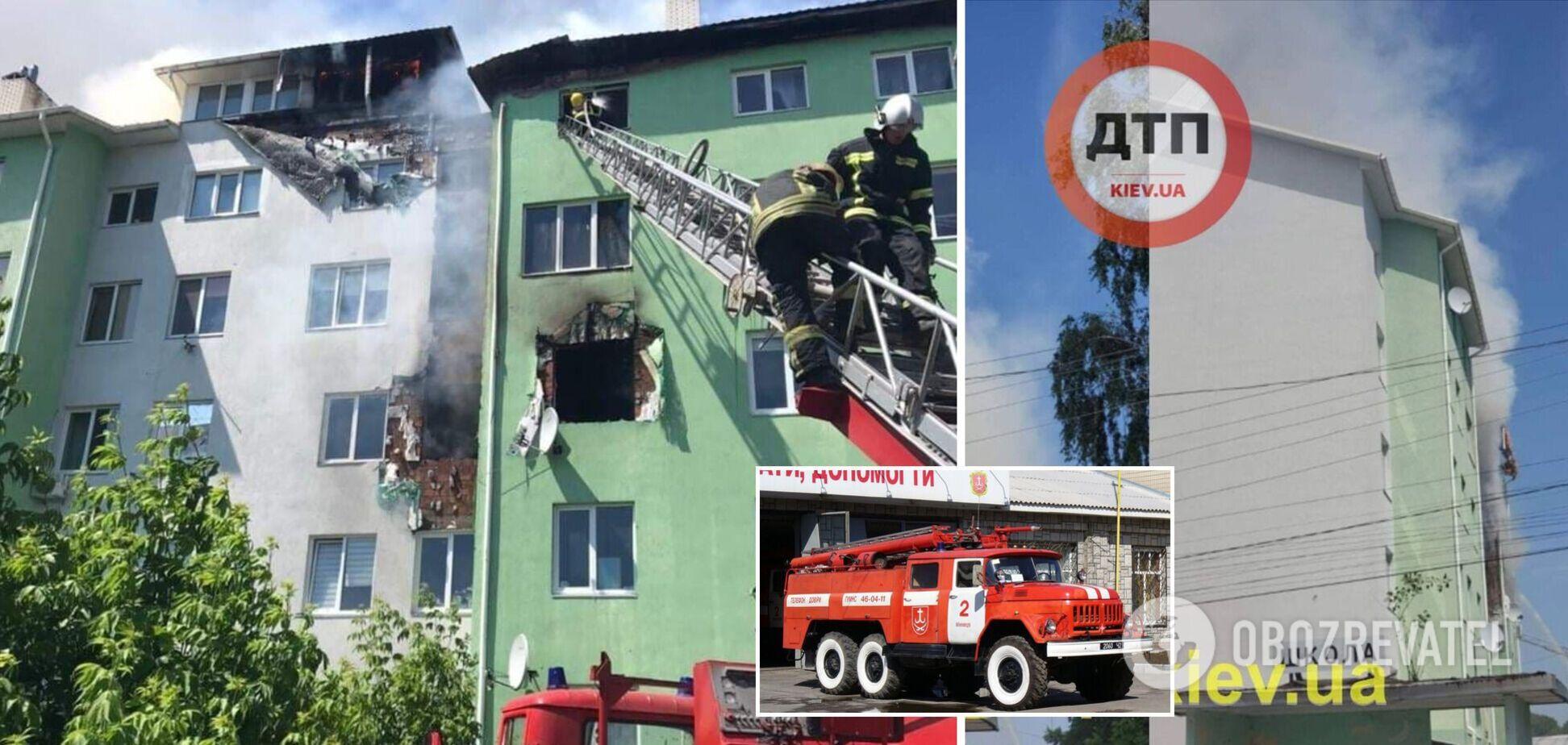 Під Києвом у пожежі в багатоповерхівці загинуло двоє: розглядається версія підриву. Фото та відео