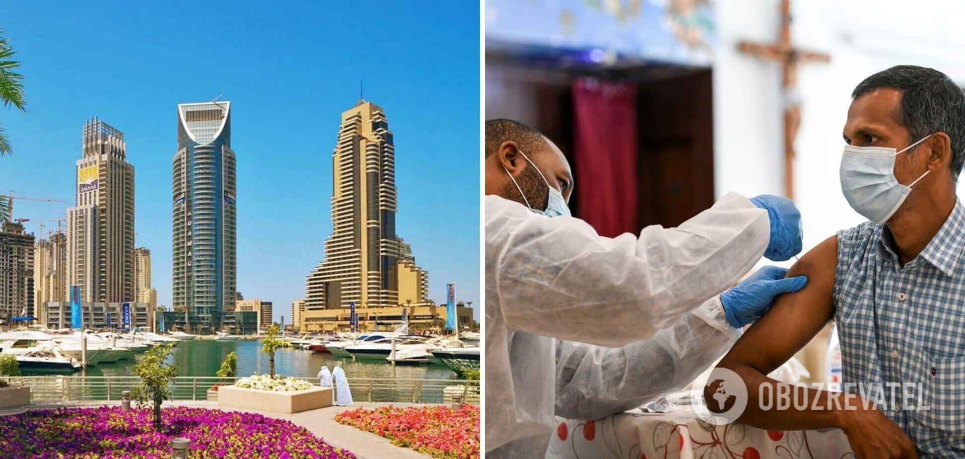 В Абу-Дабі будуть робити безкоштовні щеплення туристам