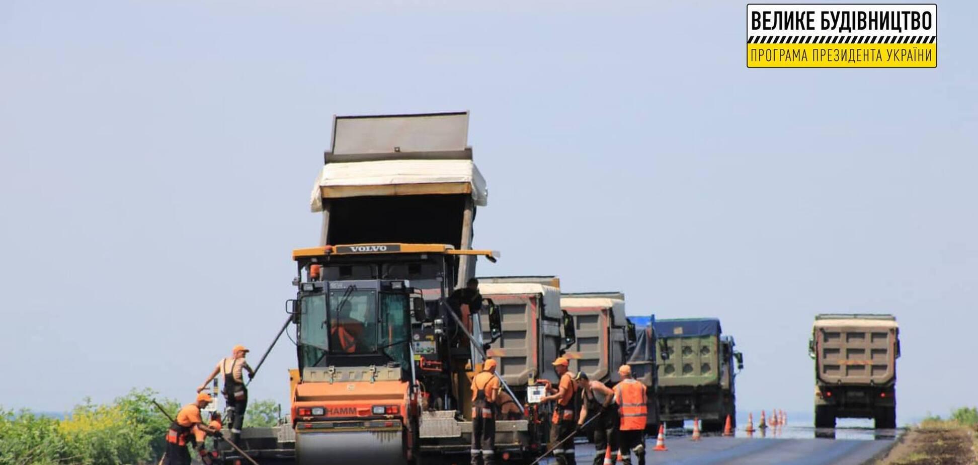 На Харьковщине завершают 'Большую стройку' трассы Р-78 по программе Зеленского