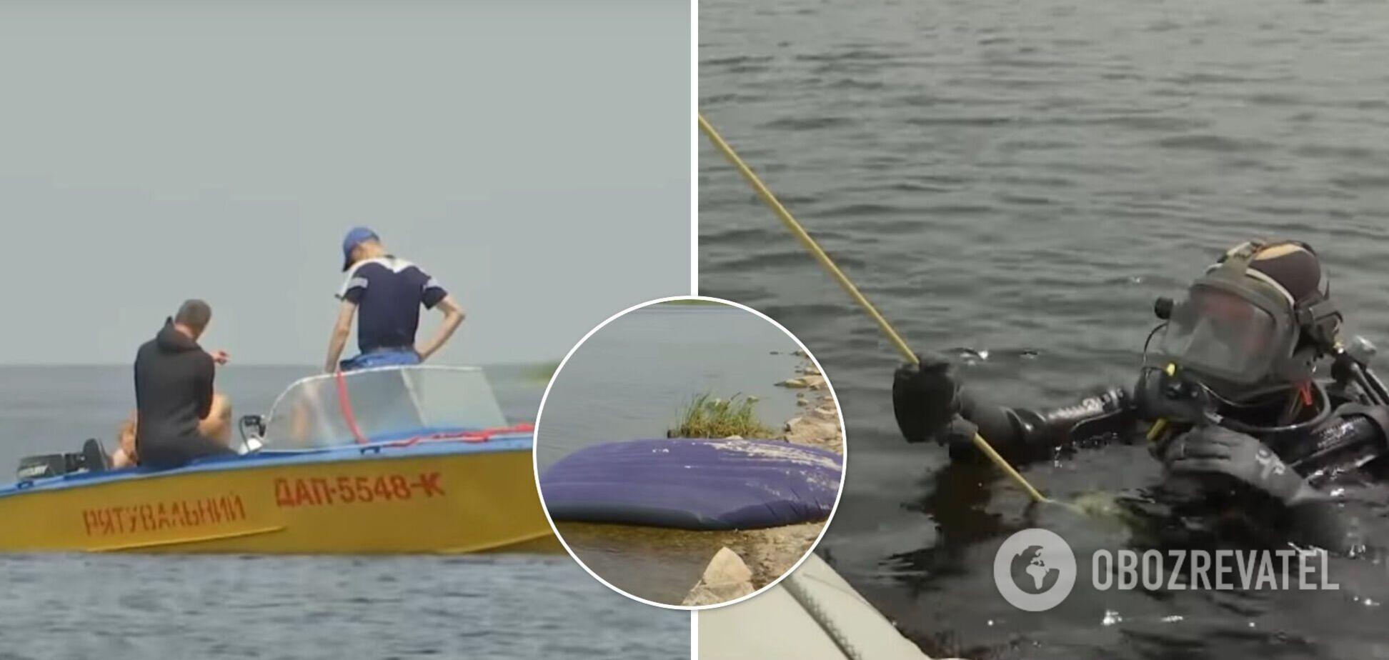 В Киевском море семью унесло на матрасе: 5-летний ребенок утонул, ее отца и 10-летнюю сестру до сих пор ищут