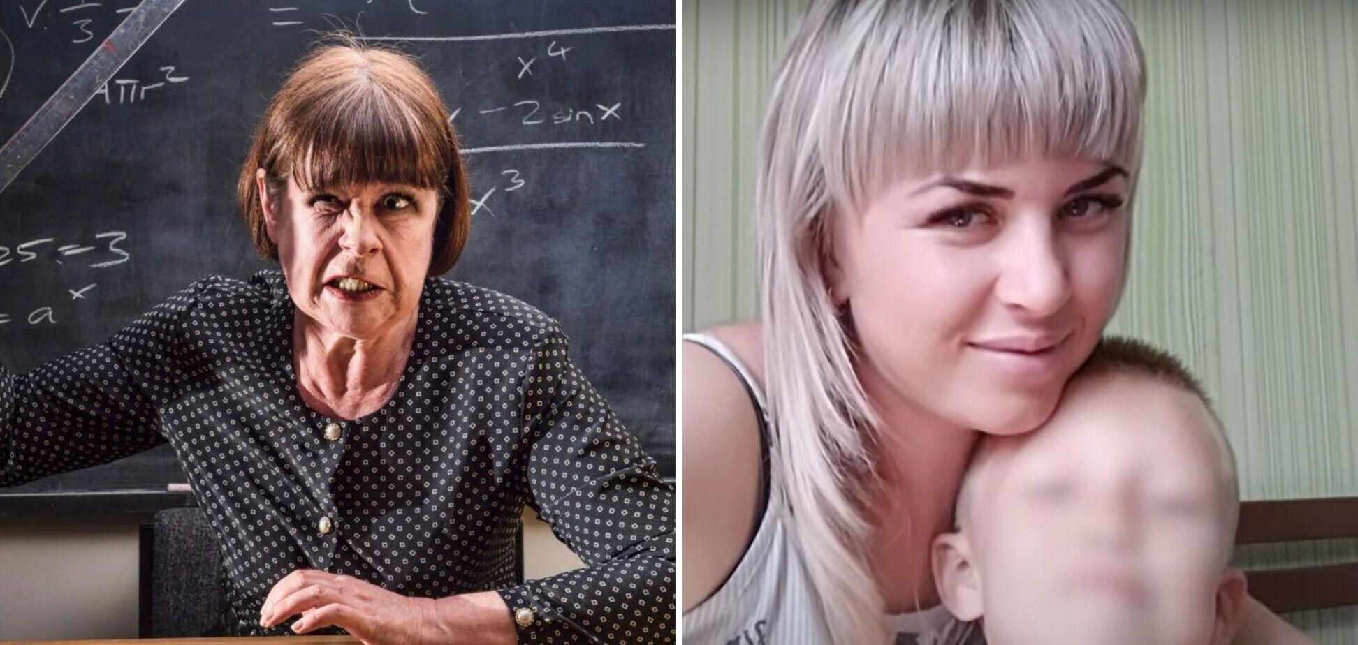 На Донбасі розгорівся скандал через приниження дитини в школі: вчителька провини не визнає. Відео
