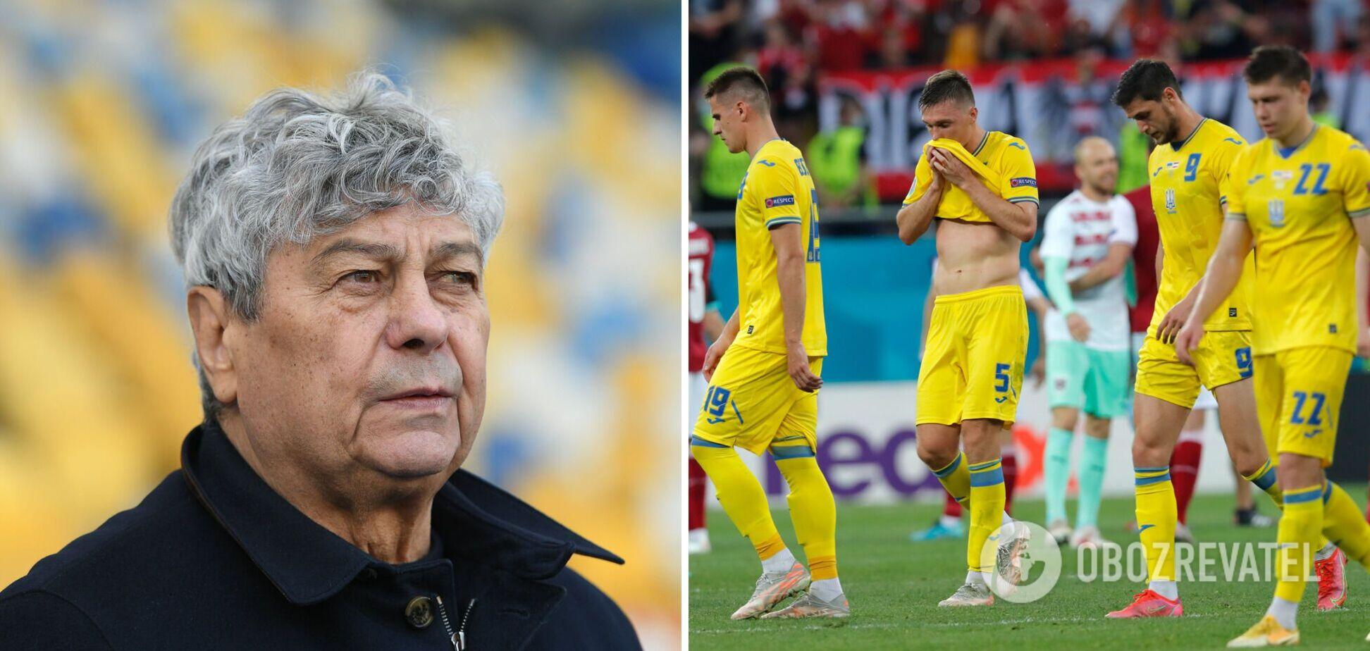 Мірча Луческу прокоментував матч Україна Австрія