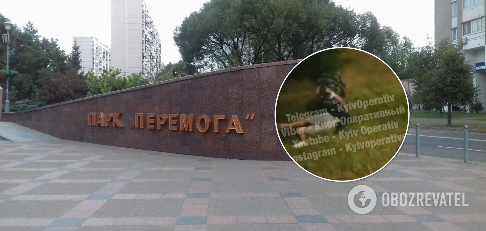 Інцидент стався біля столичного парку 'Перемога'