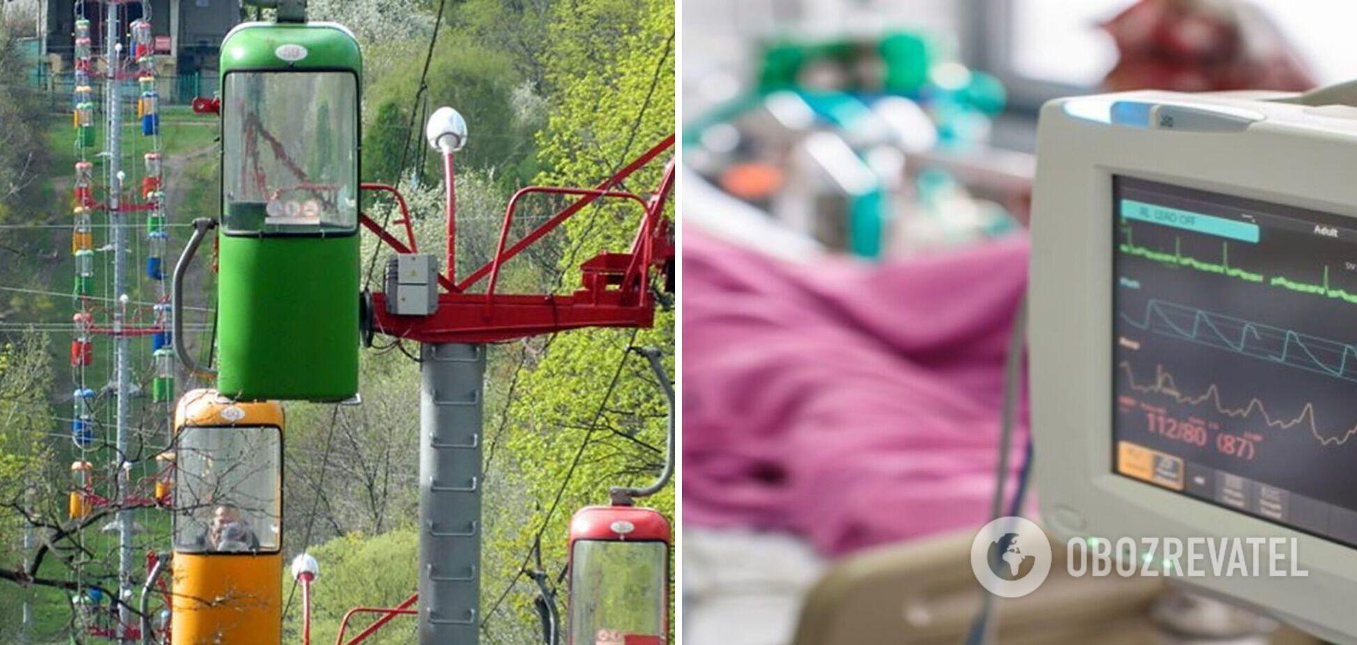 Підліток, що впав із канатної дороги в Харкові, пережив трепанацію і прийшов до тями