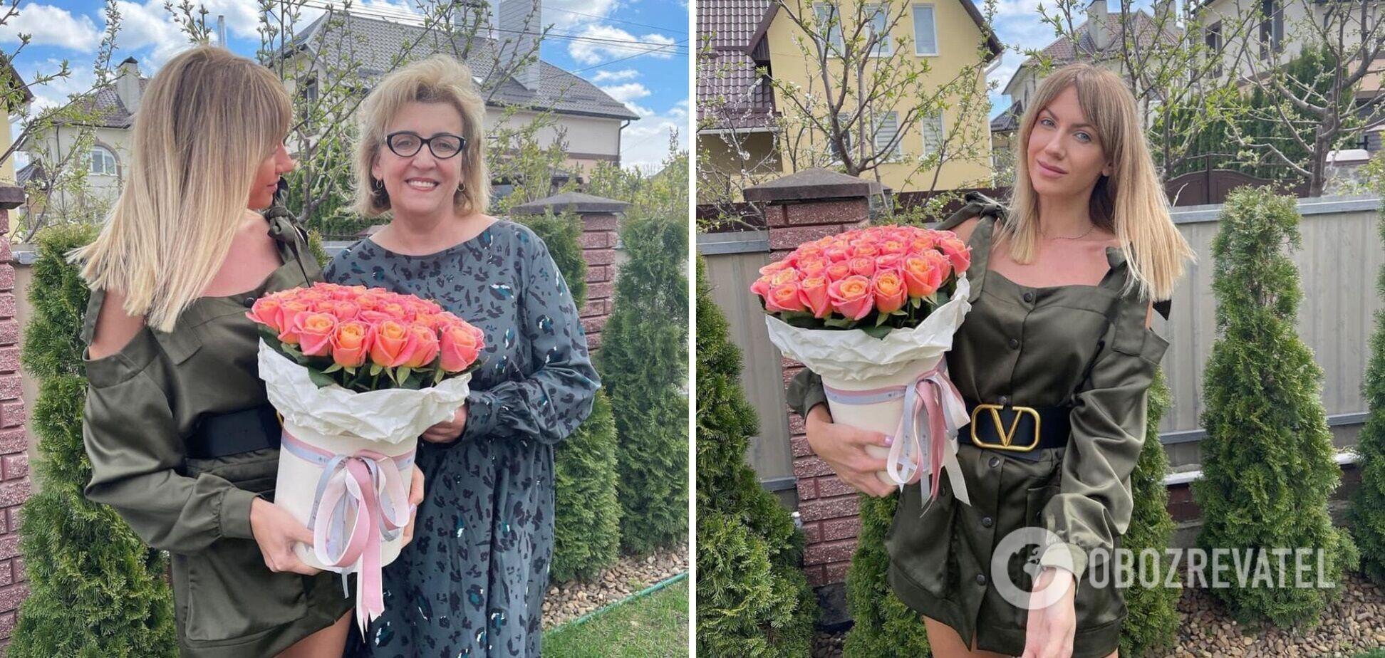 Леся Нікітюк показала своїх батьків