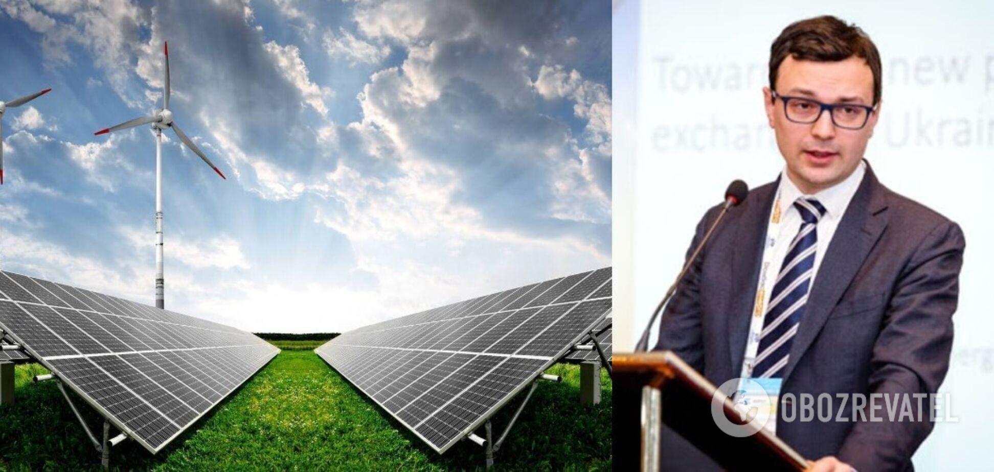 Возможное введение акциза в размере 3,2% на электроэнергию из возобновляемых источников снижает инвестиционную привлекательность Украины