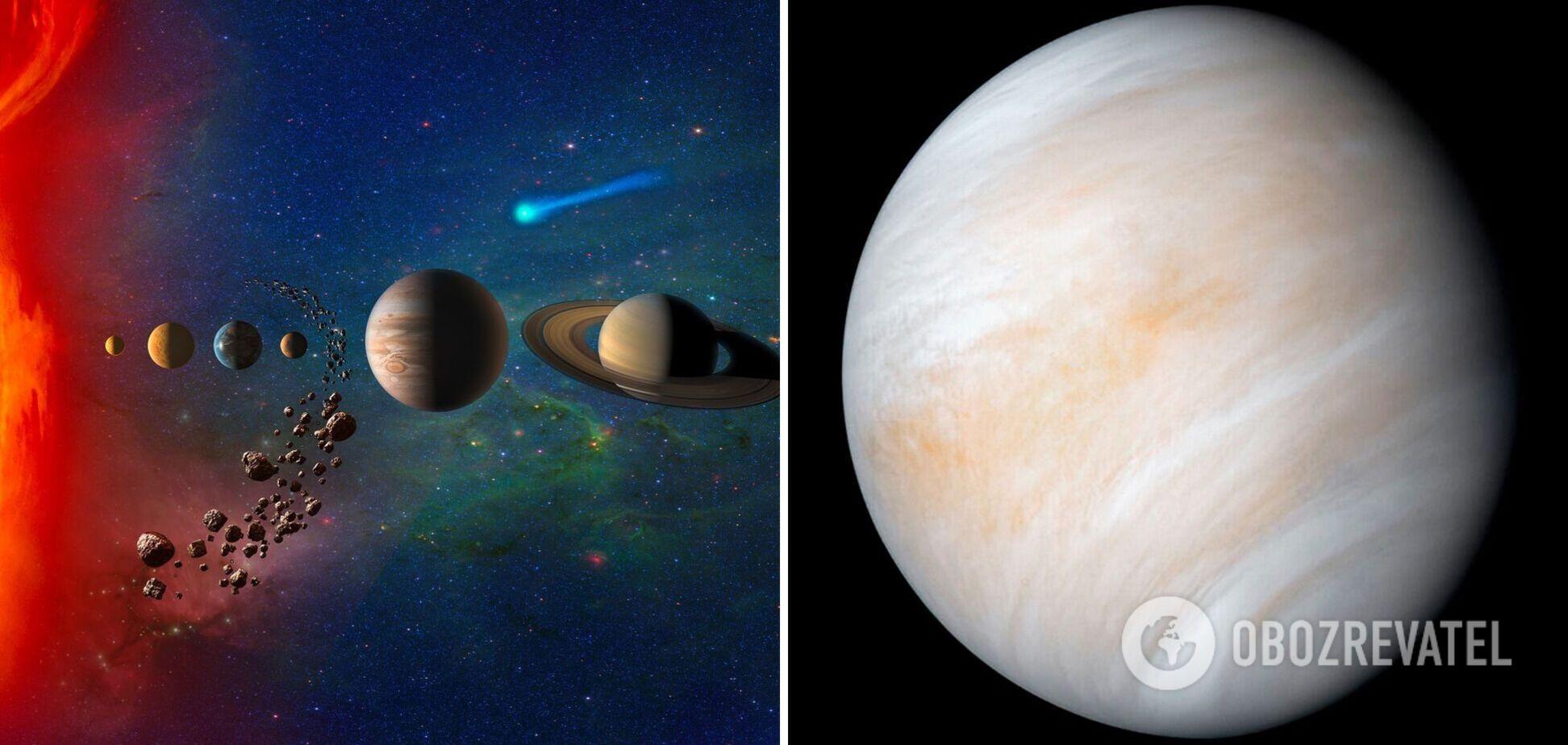 Ученые нашли потенциальные признаки существования жизни на Венере