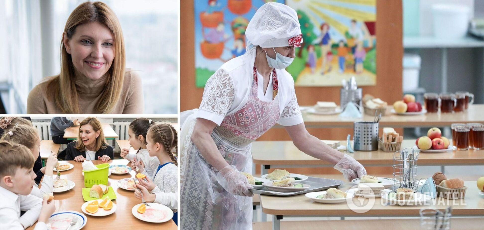 Зеленська очікує цунамі хейту на реформу шкільного харчування: 'мафія' харчується за рахунок дітей