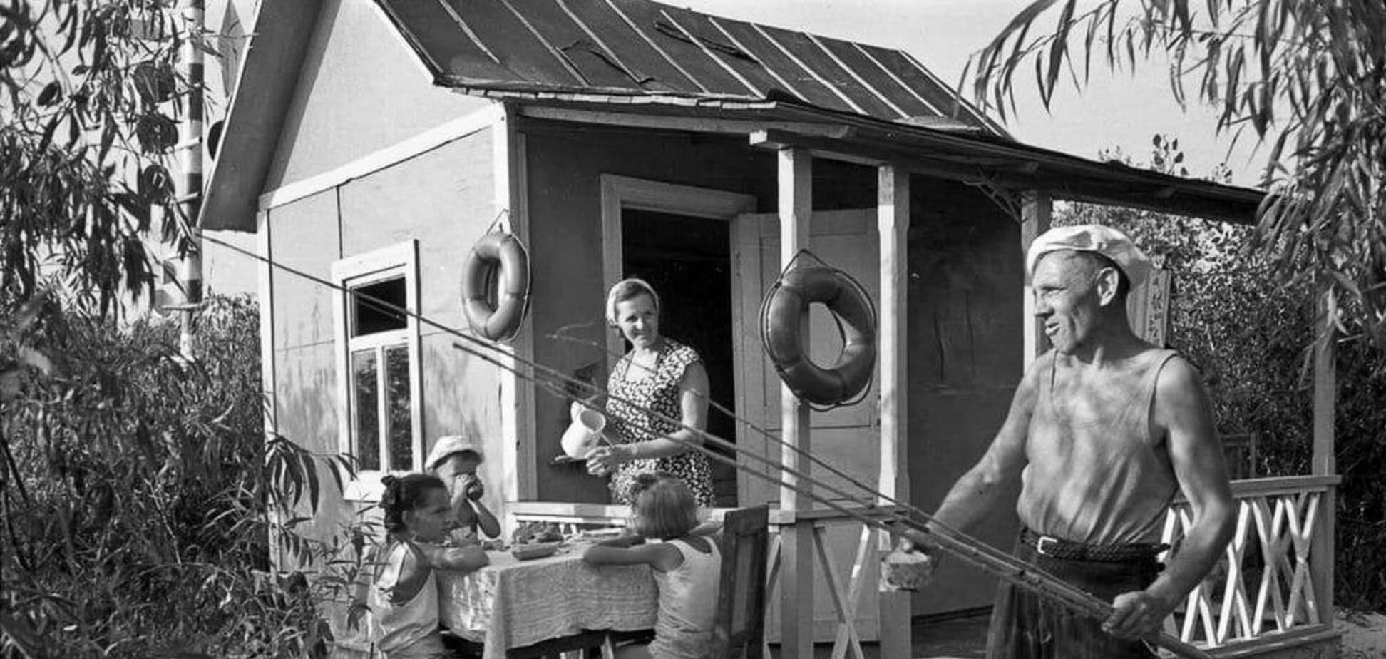У мережі показали, як виглядали дачі киян за часів СРСР