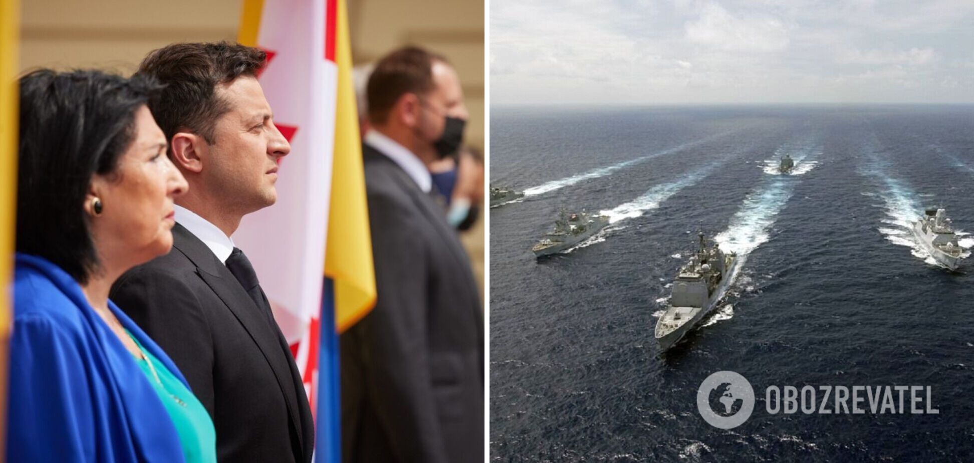 Зеленский об итогах переговоров с президентом Грузии: Черное море должно быть безопасной акваторией