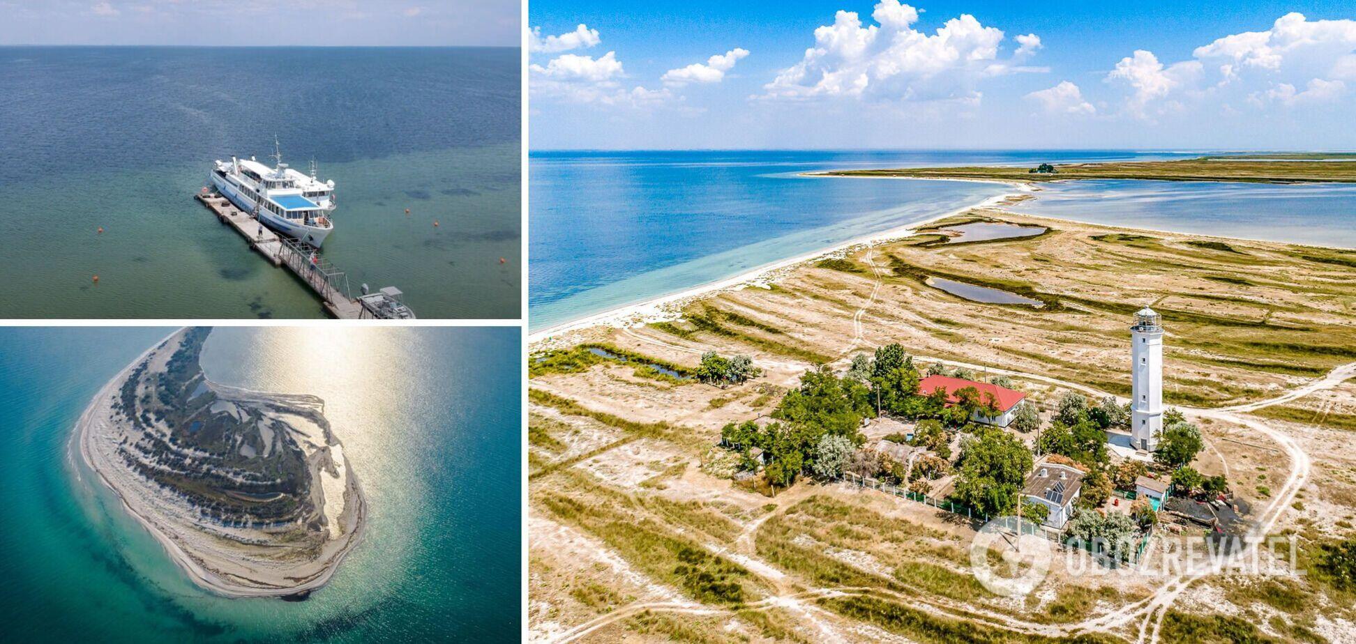В Україні є багато маловідомих місць для відпочинку на морі