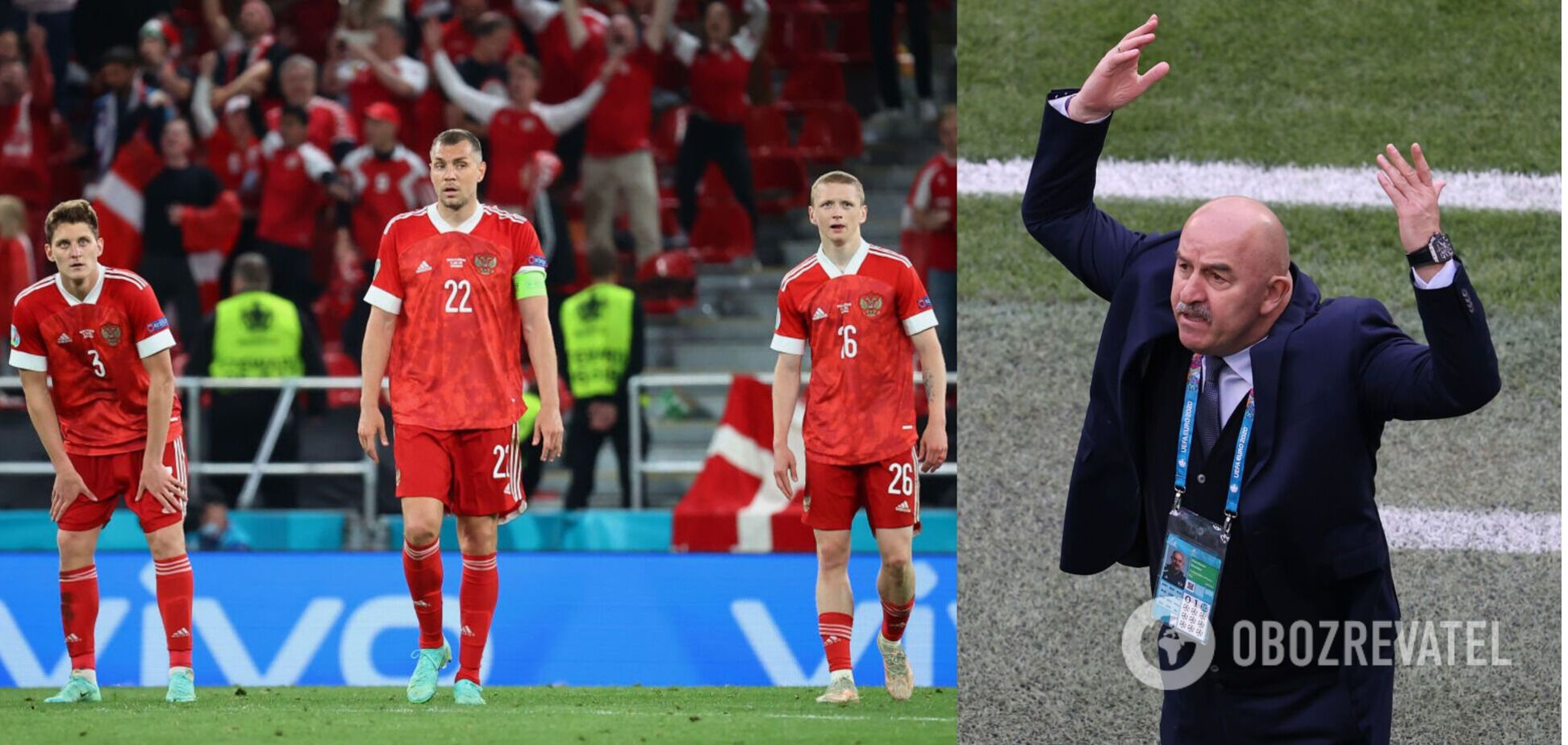 Станіслав Черчесов заробляє 2,5 мільйона євро в рік, але провалився з Росією на Євро-2020