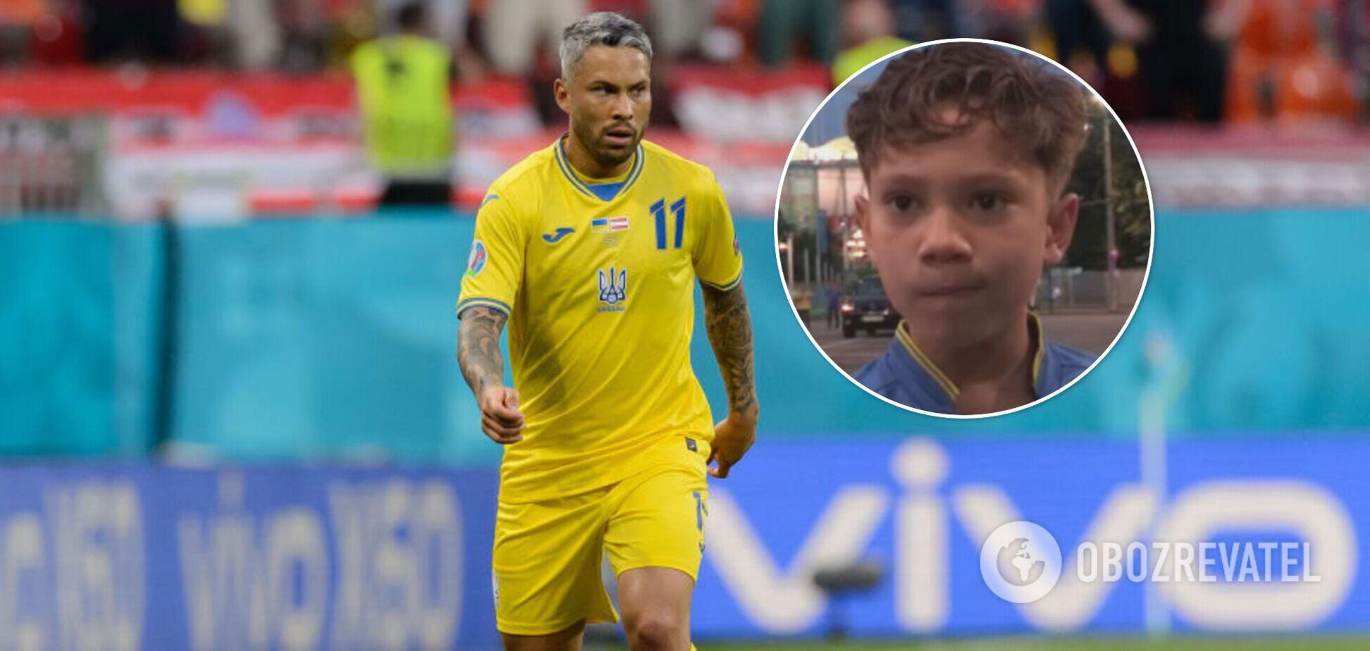 Син Марлоса не вражений грою батька за збірну України