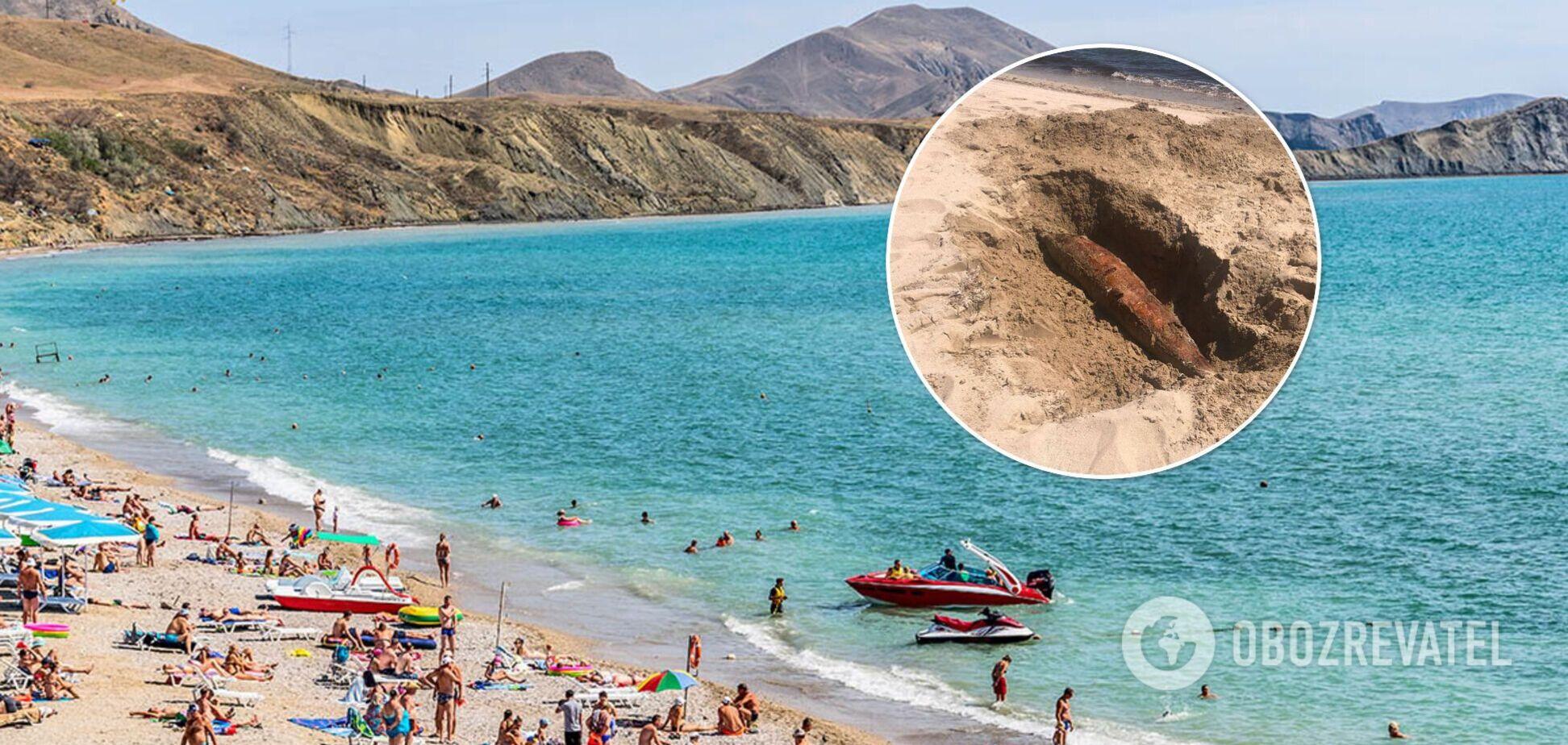 Трупи дельфінів закопують у піску, на частині пляжів купатися заборонено: свіжі фото і відео з Криму