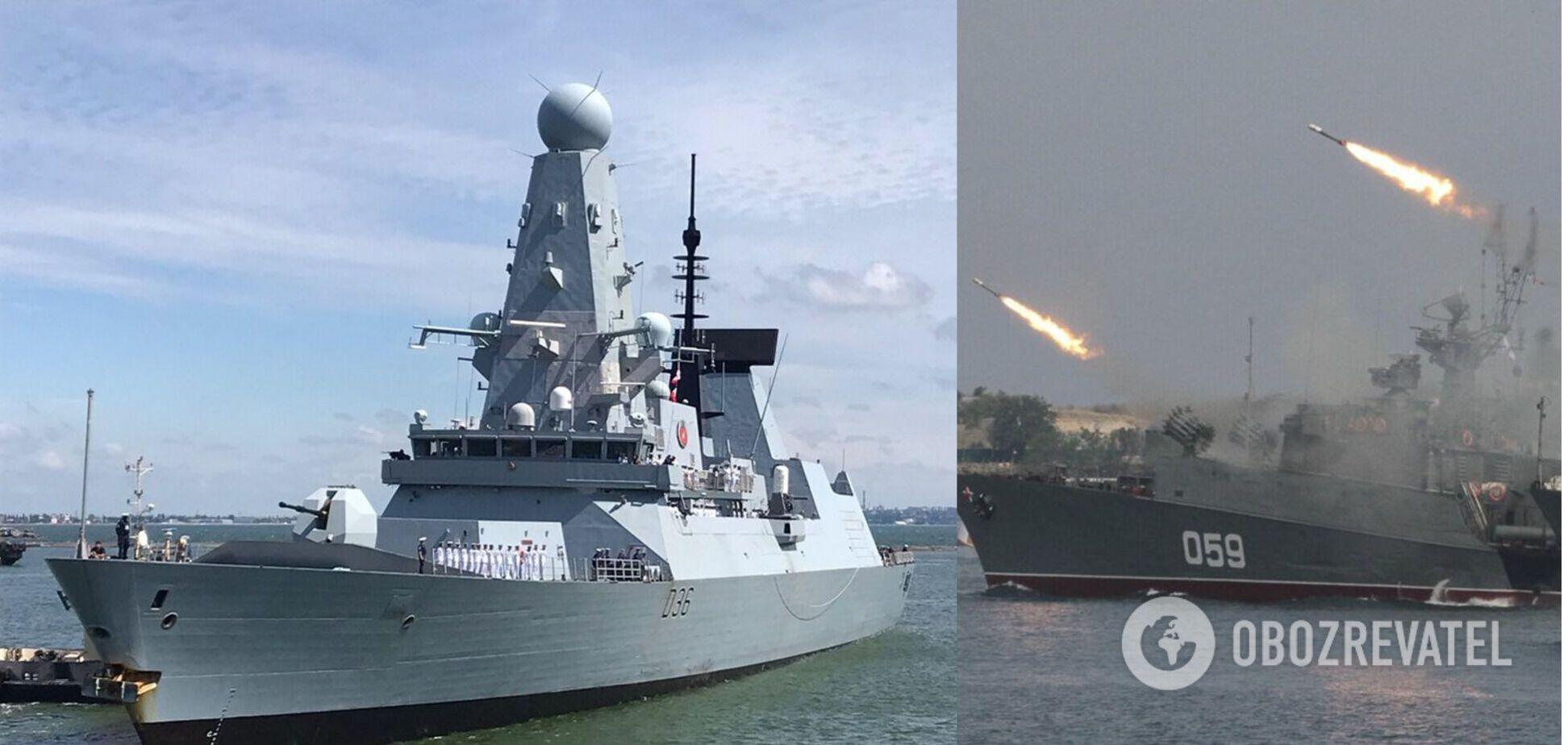 У Росії заявили, що обстріляли британський есмінець: англійці спростували