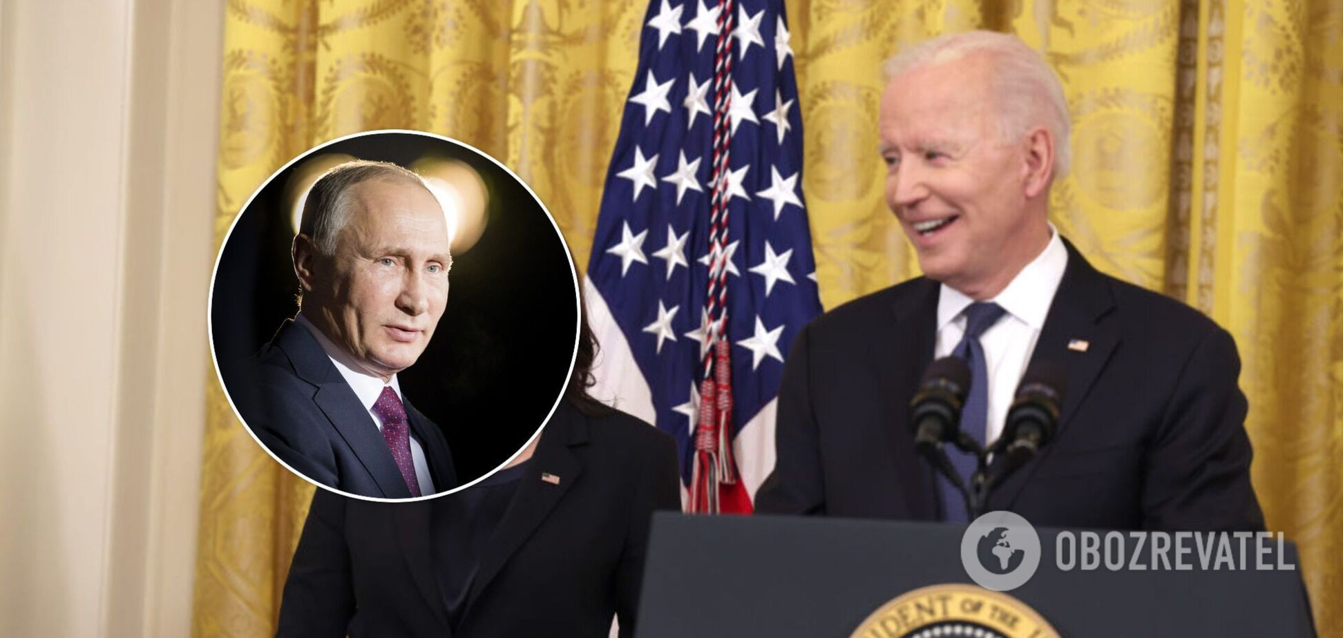 Путин получил 'оплеуху' от Байдена и начал защищаться за счет Украины, – Обухов