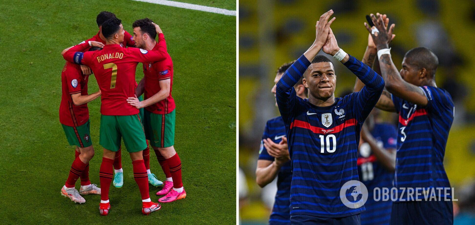 Португалия - Франция прогноз матч 21 06 2021