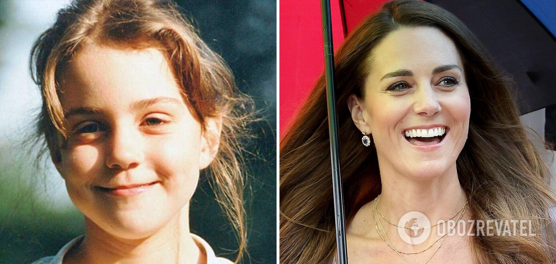 Как менялась Кейт Миддлтон: фото герцогини на протяжении жизни