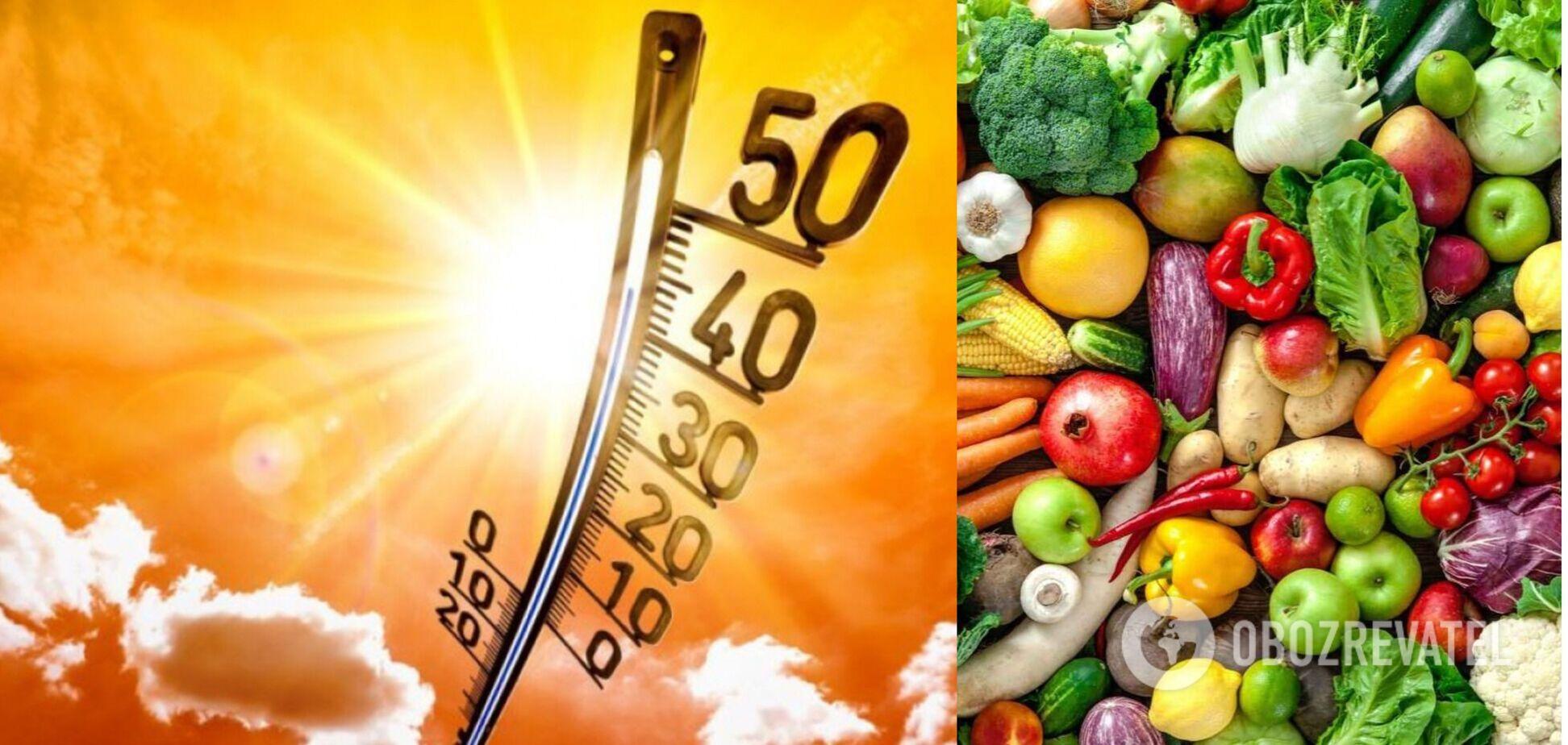 Питание в жару: что и когда лучше есть