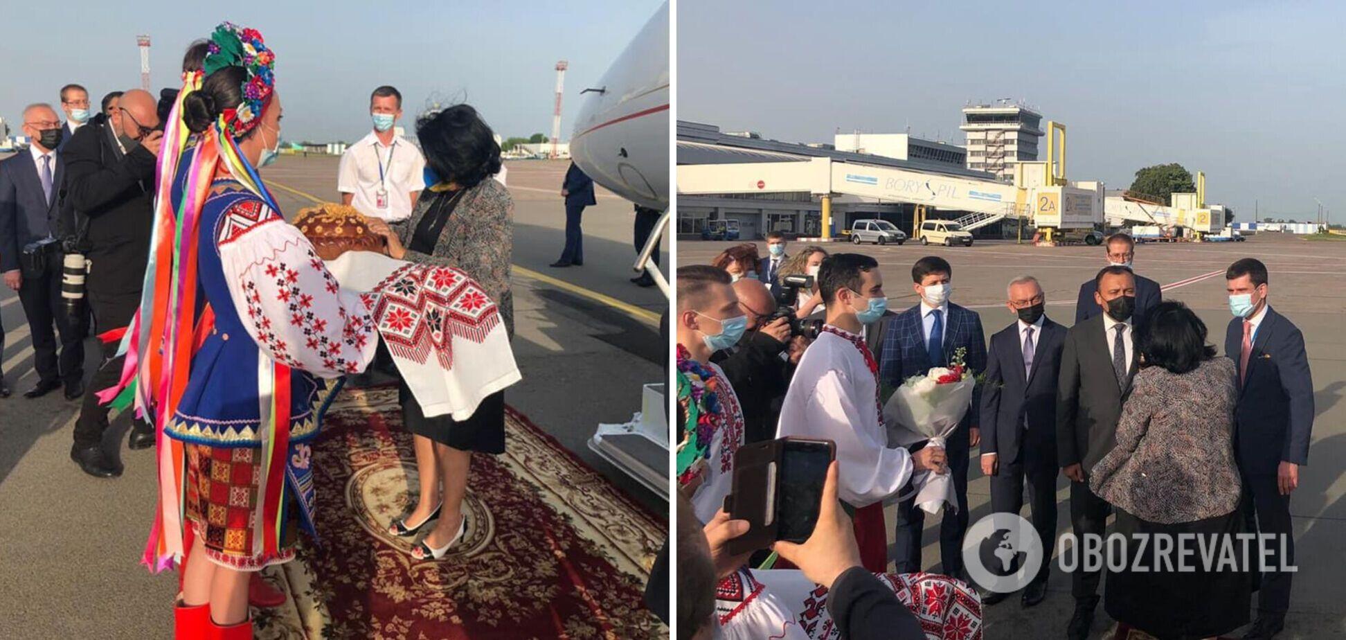 Саломе Зурабишвили приехала в Украину