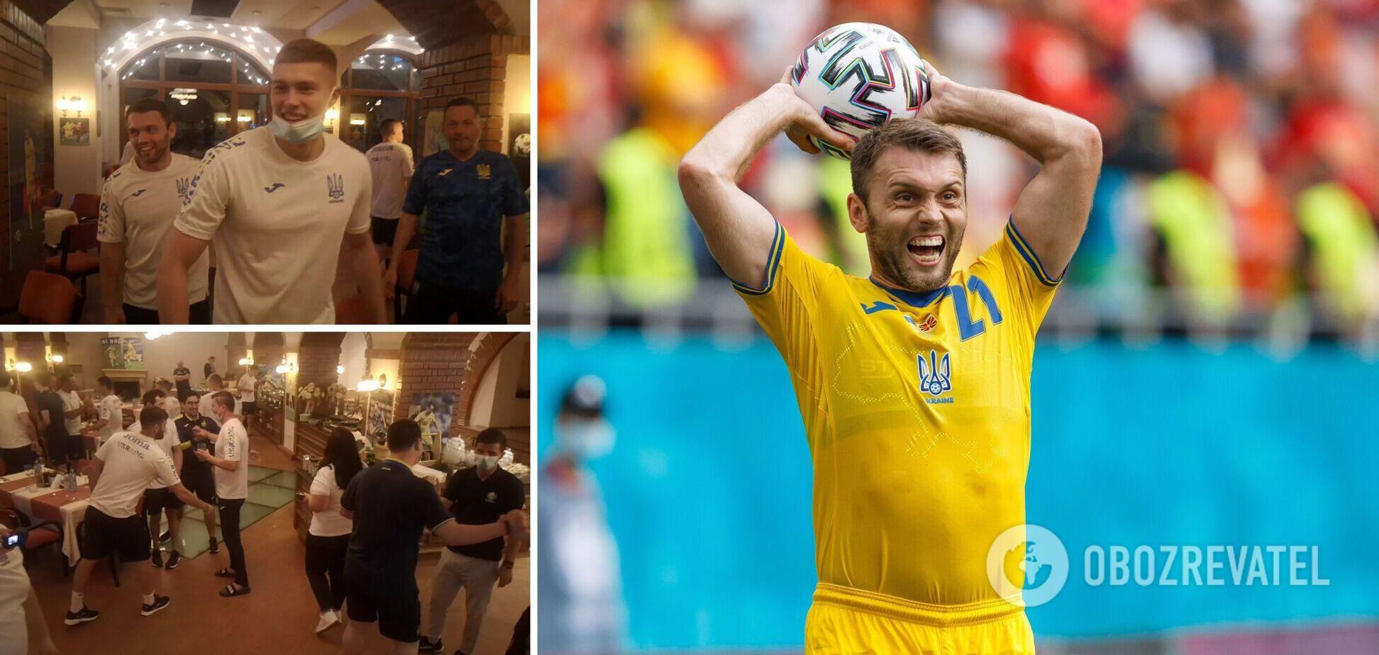 Футболісти збірної України