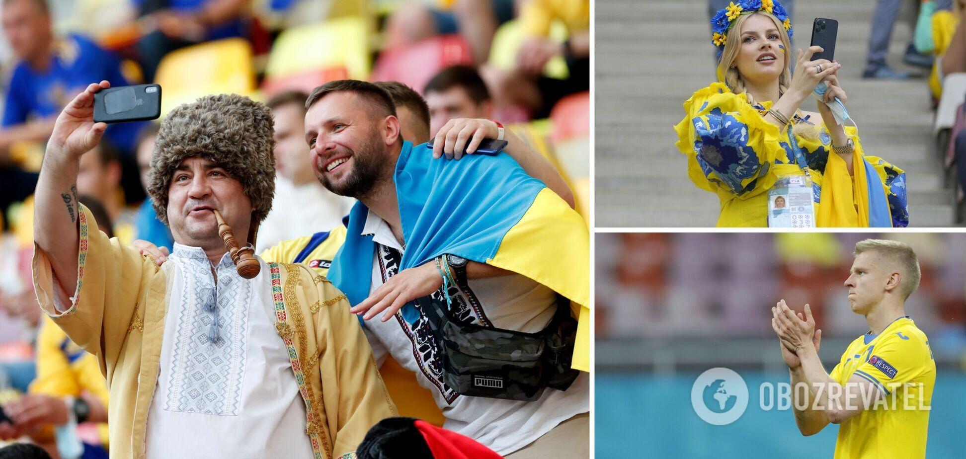 Реакция соцсетей на сборную Украины