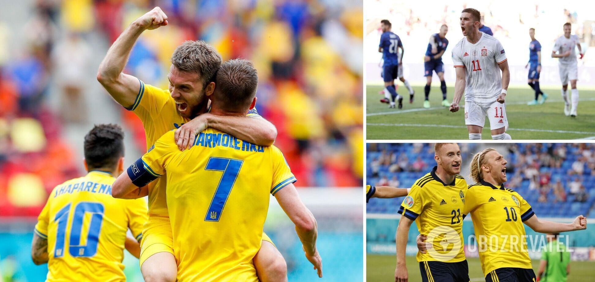 Україна вийшла в плей-оф