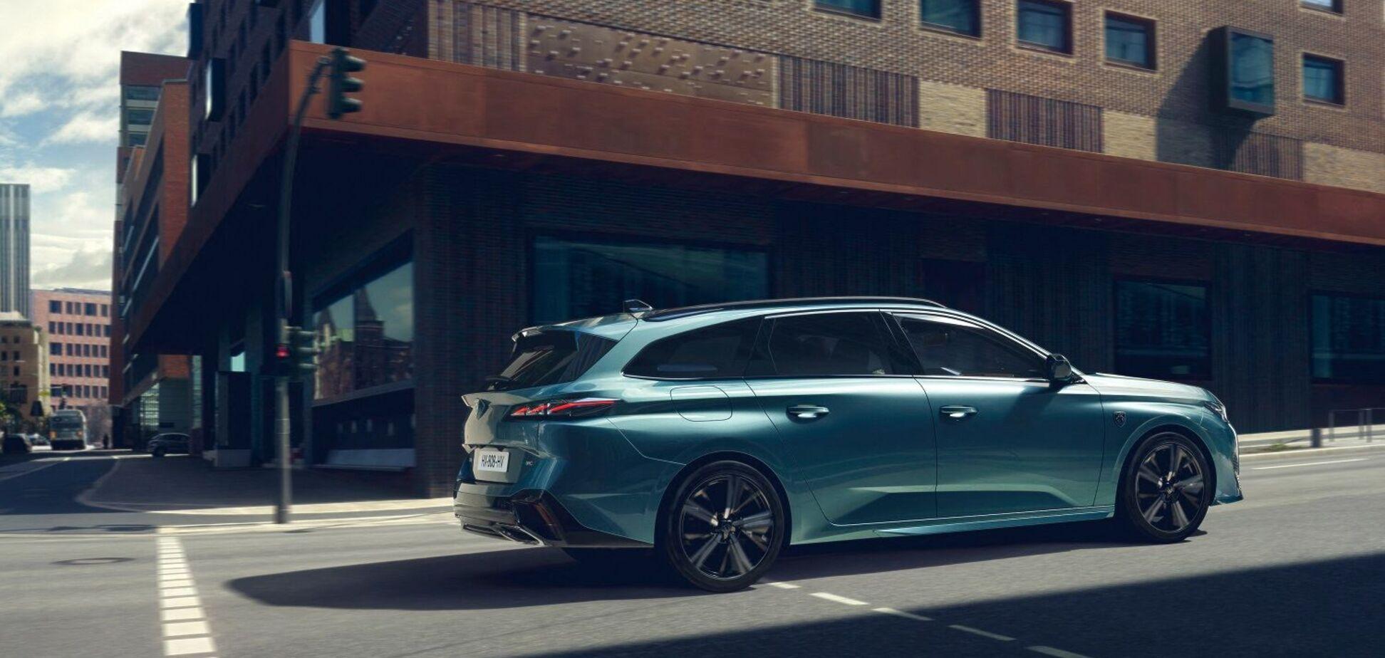 Peugeot представив нове покоління універсалу 308 SW