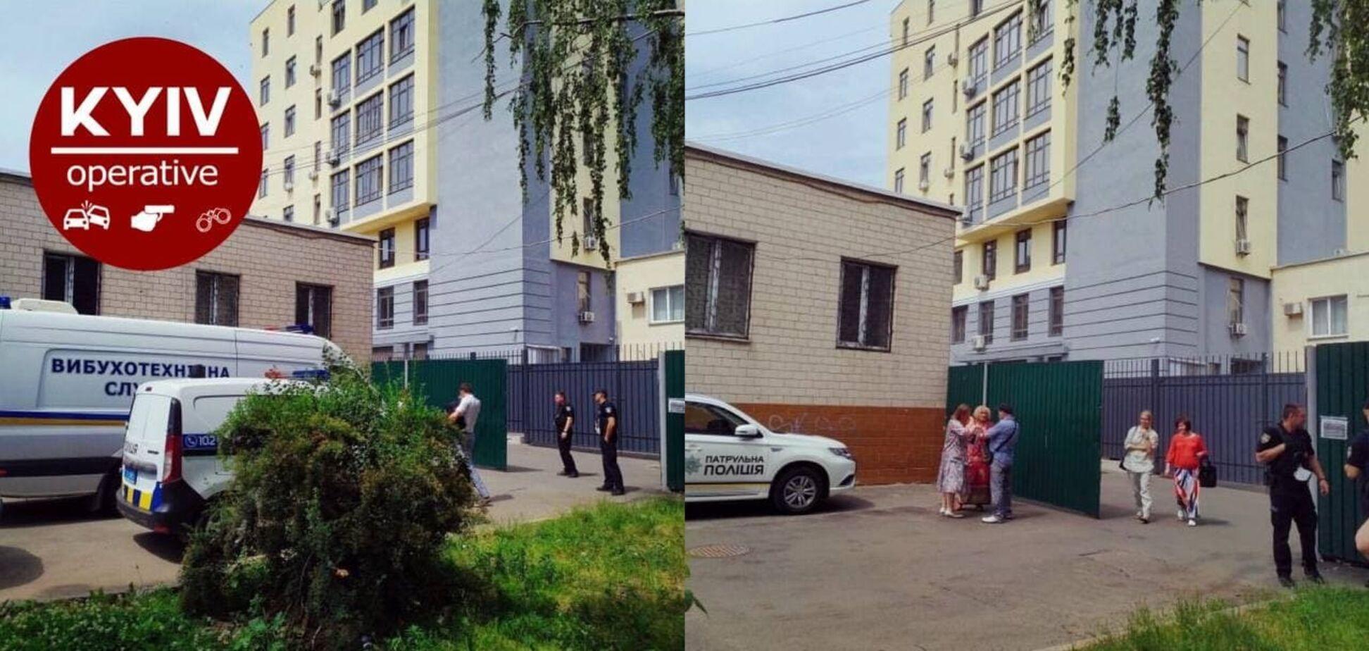 В Киеве 'заминировали' здание Святошинского райсуда: из помещения эвакуировали сотни людей