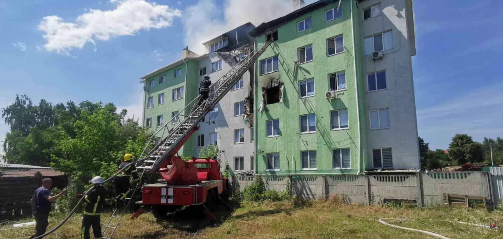 Взрыв и пожар в Белогородке: подозреваемый дал показания