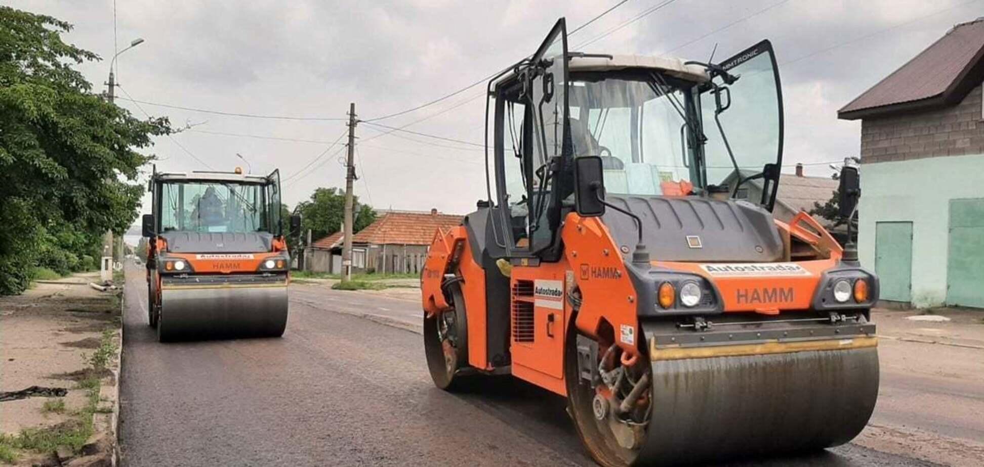 В Николаеве после сильных дождей возобновили 'Большую стройку' трассы М-14
