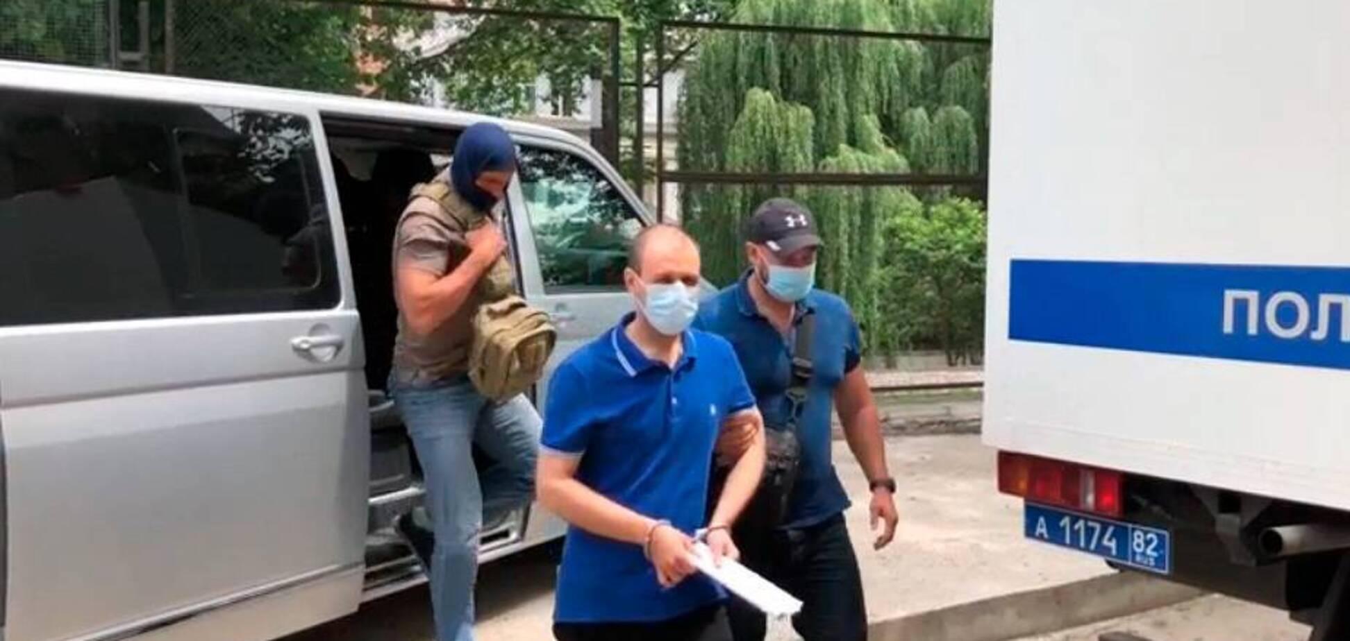 В Крыму ФСБ задержали мужчину, обвинив в сборе информации для спецслужб Украины