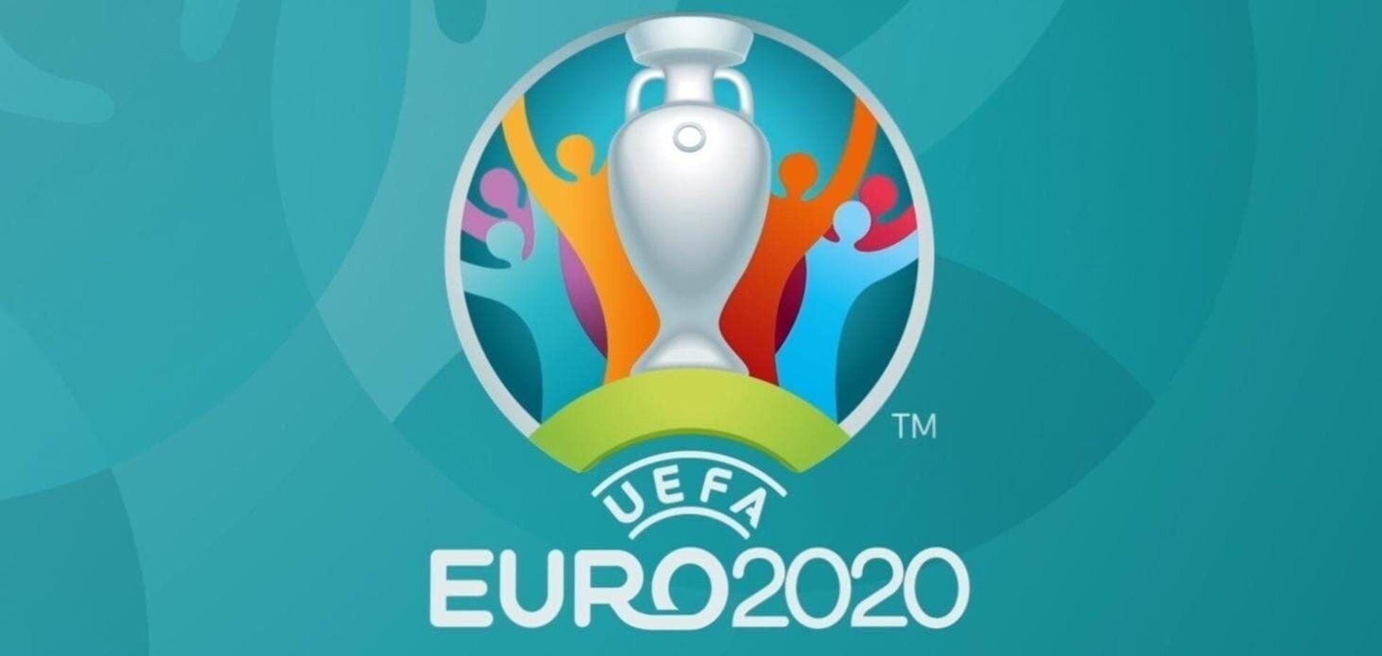 Логотип Євро-2020
