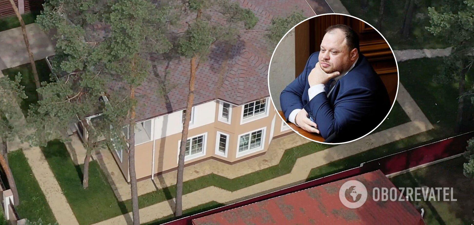 Стефанчук звів маєток під Києвом, але в декларації 'загубилися' 2 млн: експерти оцінили вартість