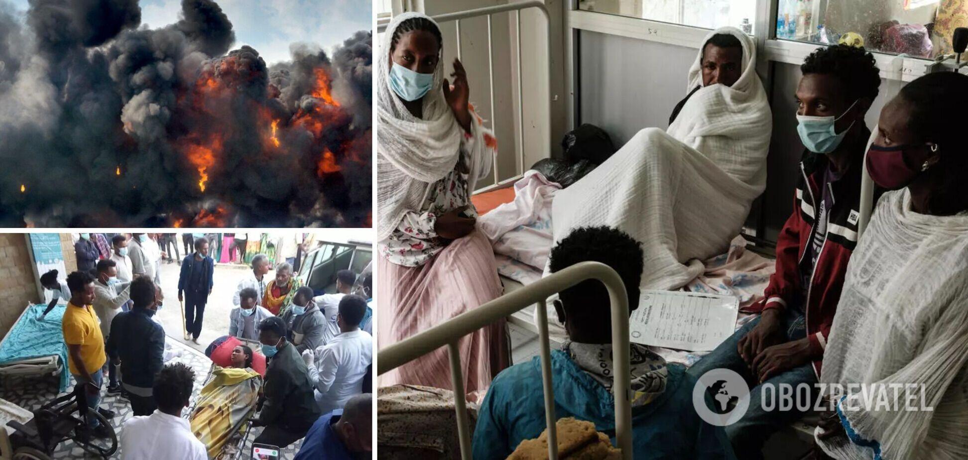 В Ефіопії завдали авіаудару по ринку: загинули понад 40 осіб, багато поранених