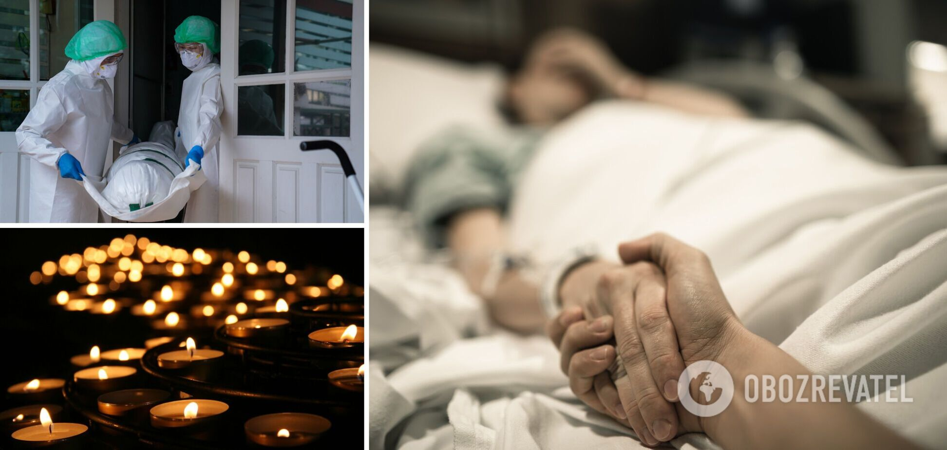 Коронавирус – смертность в Украине