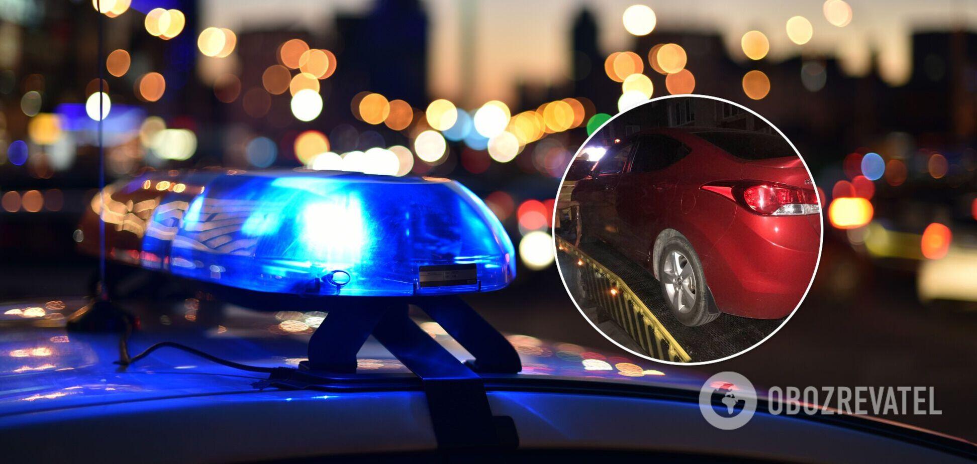 У гражданки изъяли права и забрали авто на штрафплощадку