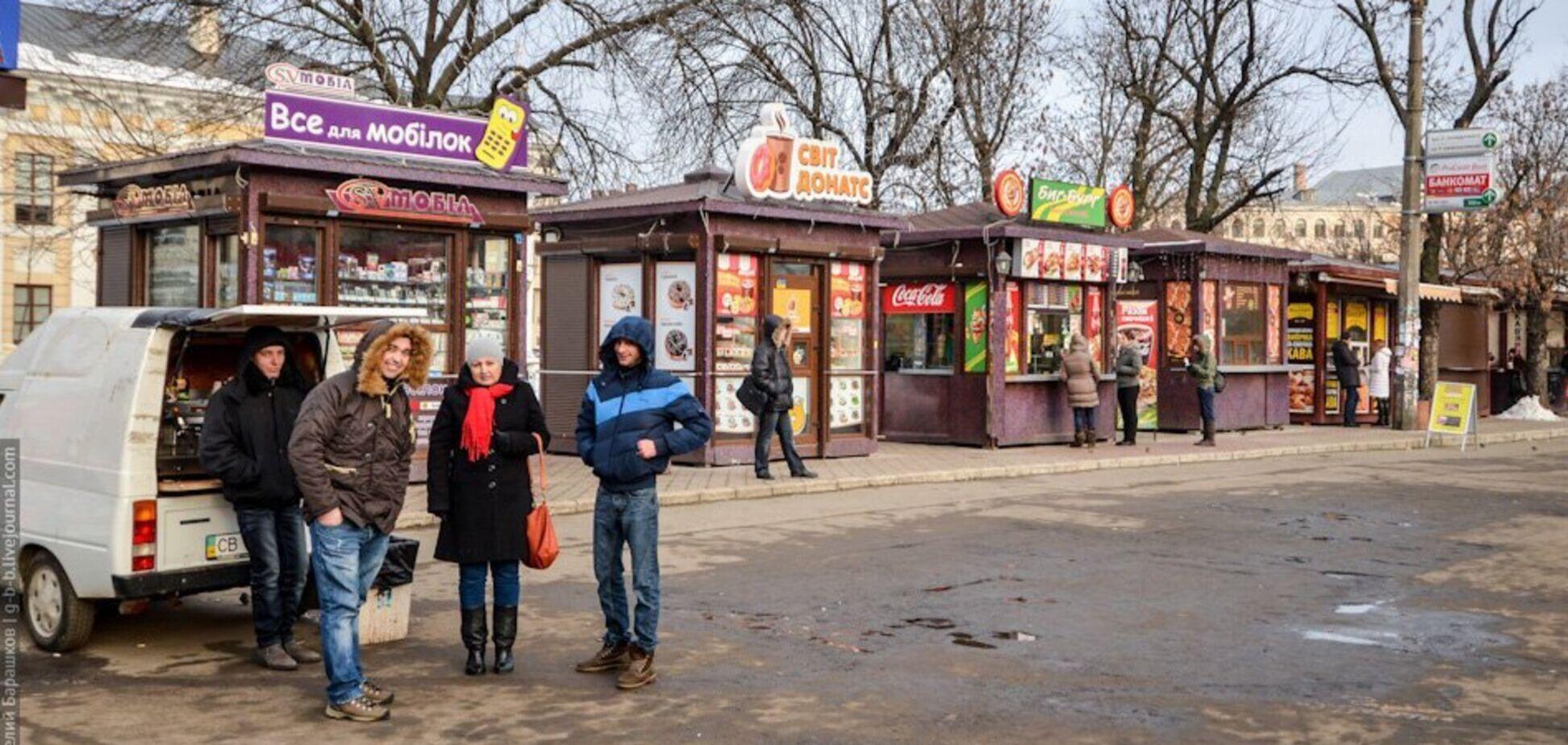 Депутаты Киевсовета призвали повысить штрафы за незаконные МАФы